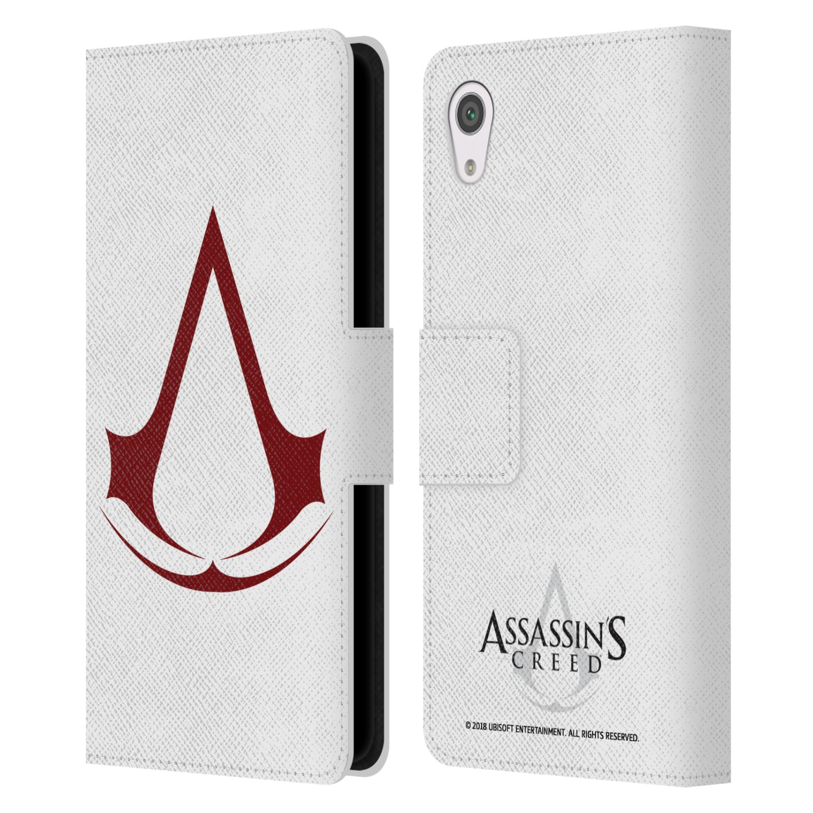 Pouzdro na mobil Sony Xperia XA1 - Head Case - Assasins Creed znak