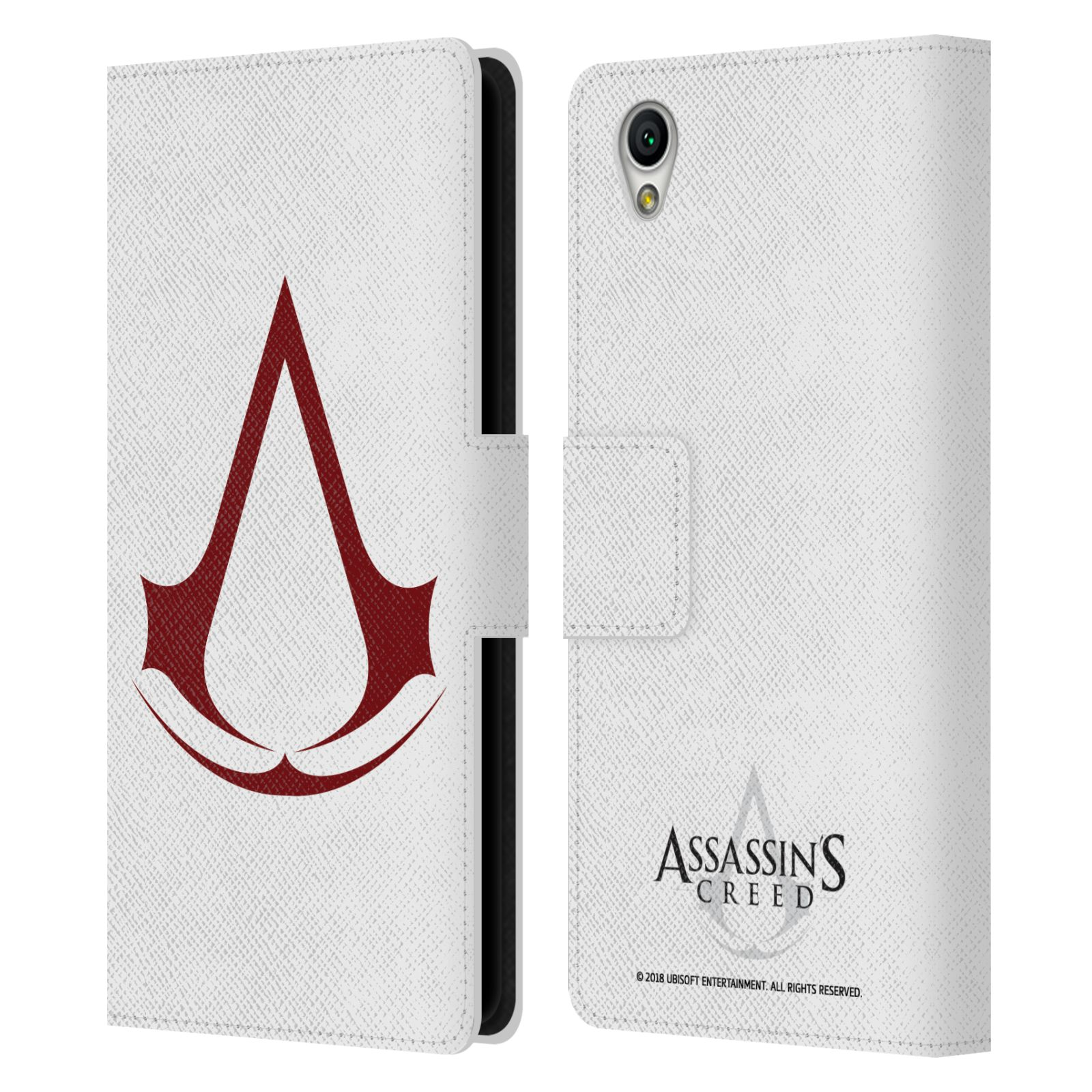 Pouzdro na mobil Sony Xperia L1 - Head Case - Assasins Creed znak