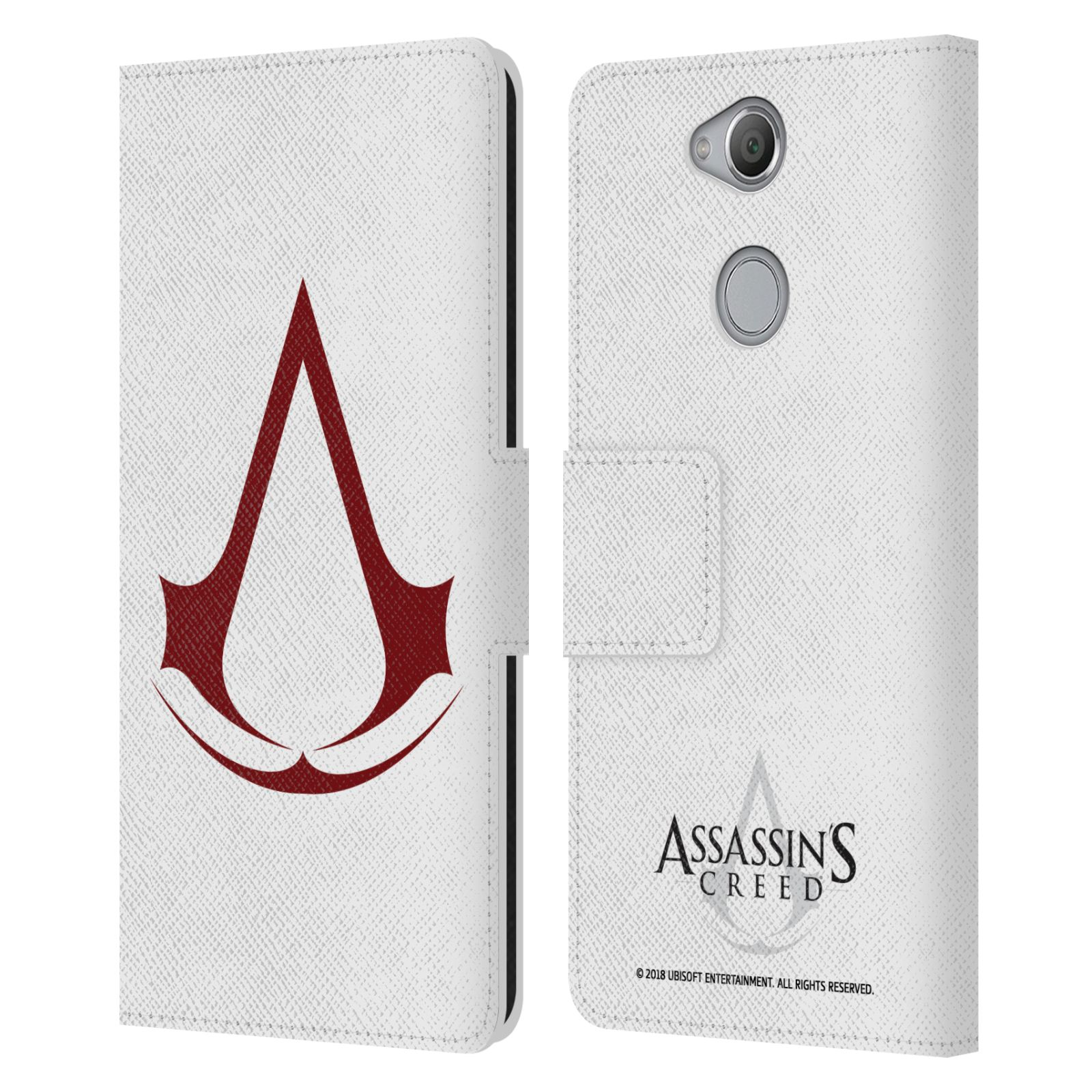 Pouzdro na mobil Sony Xperia XA2 - Head Case - Assasins Creed znak
