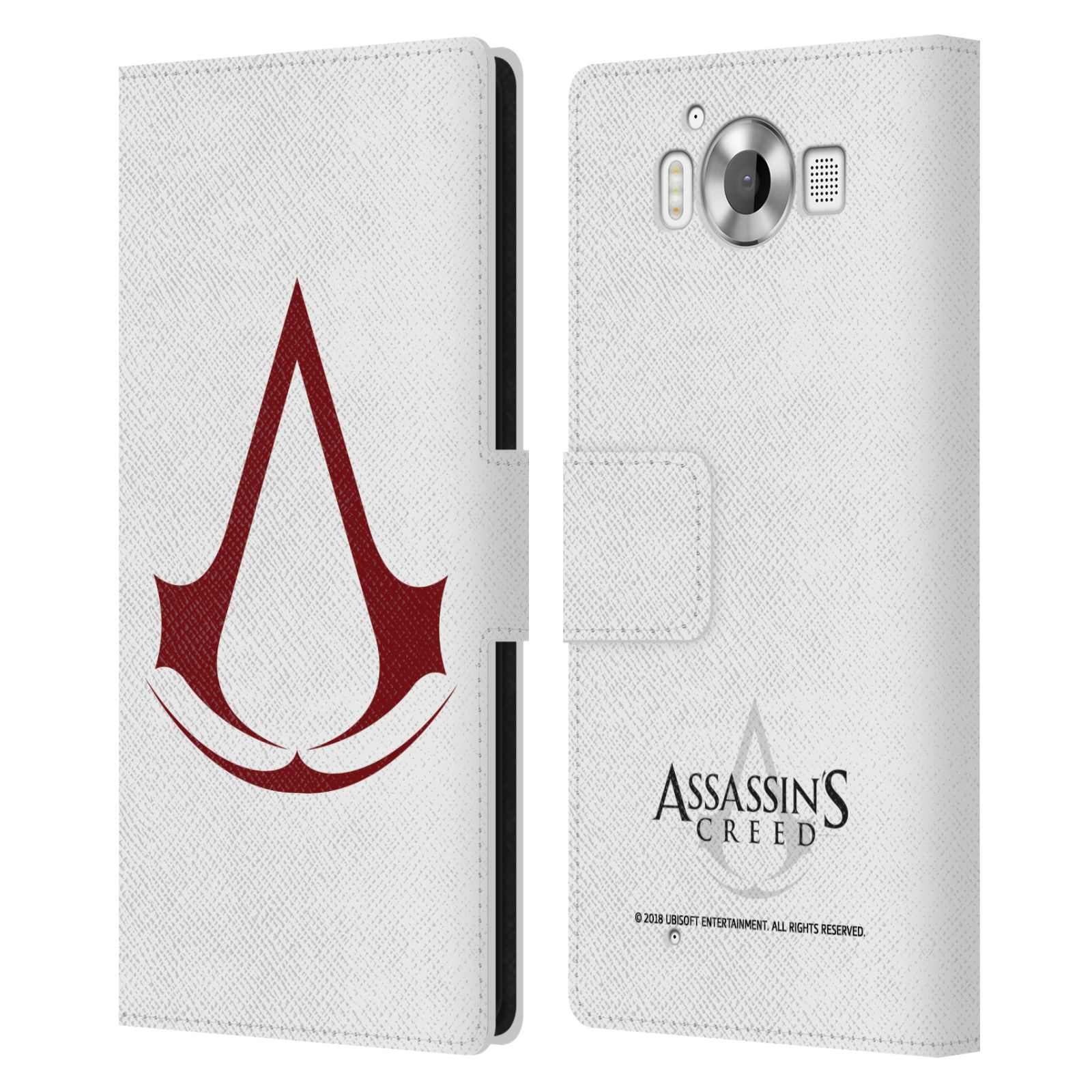 Pouzdro na mobil Nokia Lumia 950 - Head Case - Assasins Creed znak