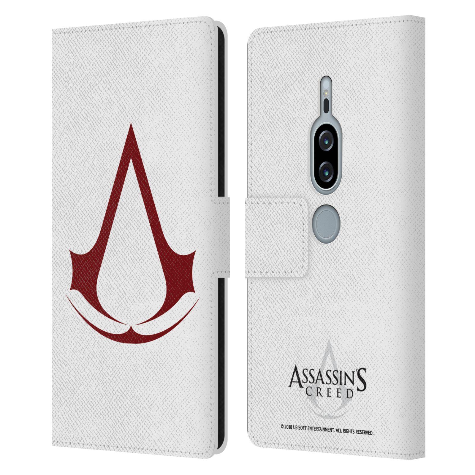 Pouzdro na mobil Sony Xperia XZ2 Premium - Head Case - Assasins Creed znak