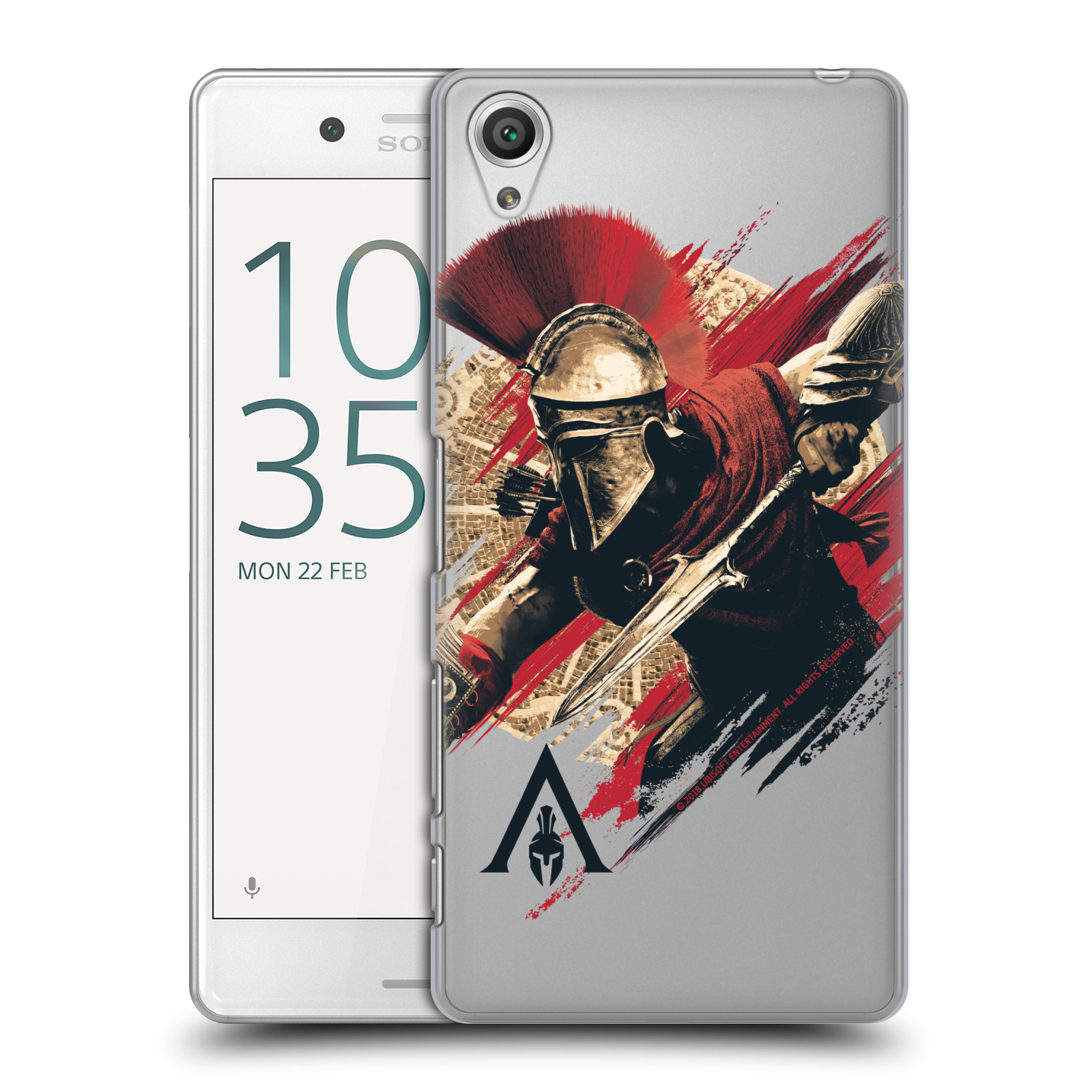 Pouzdro na mobil Sony Xperia X PERFORMANCE - HEAD CASE - Assassins Creed Odyssey Alexios s oštěpem
