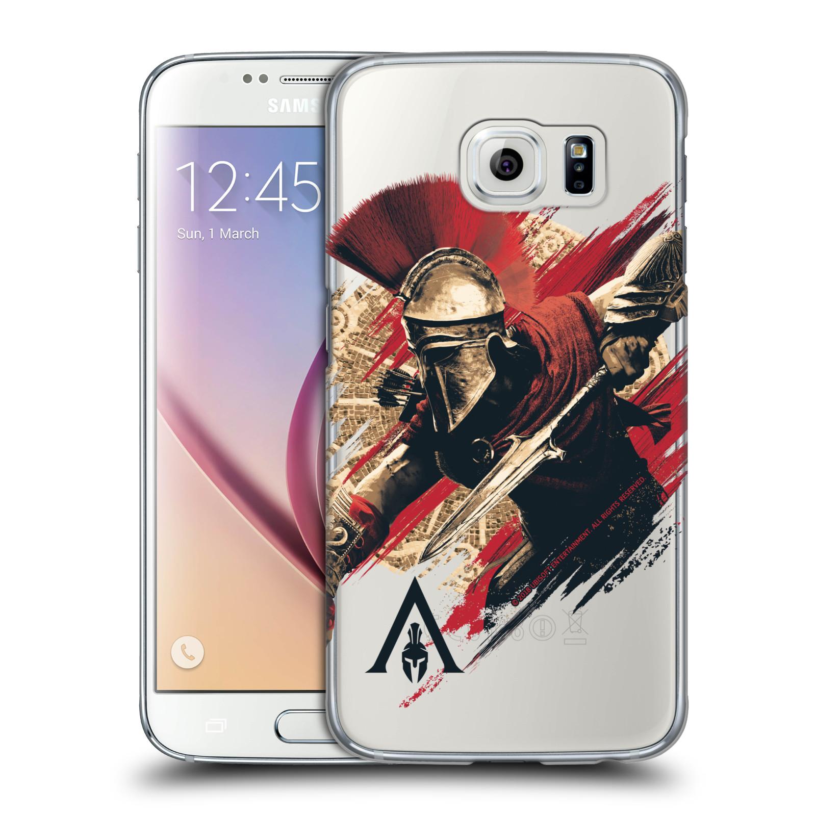 Pouzdro na mobil Samsung Galaxy S6 - HEAD CASE - Assassins Creed Odyssey Alexios s oštěpem