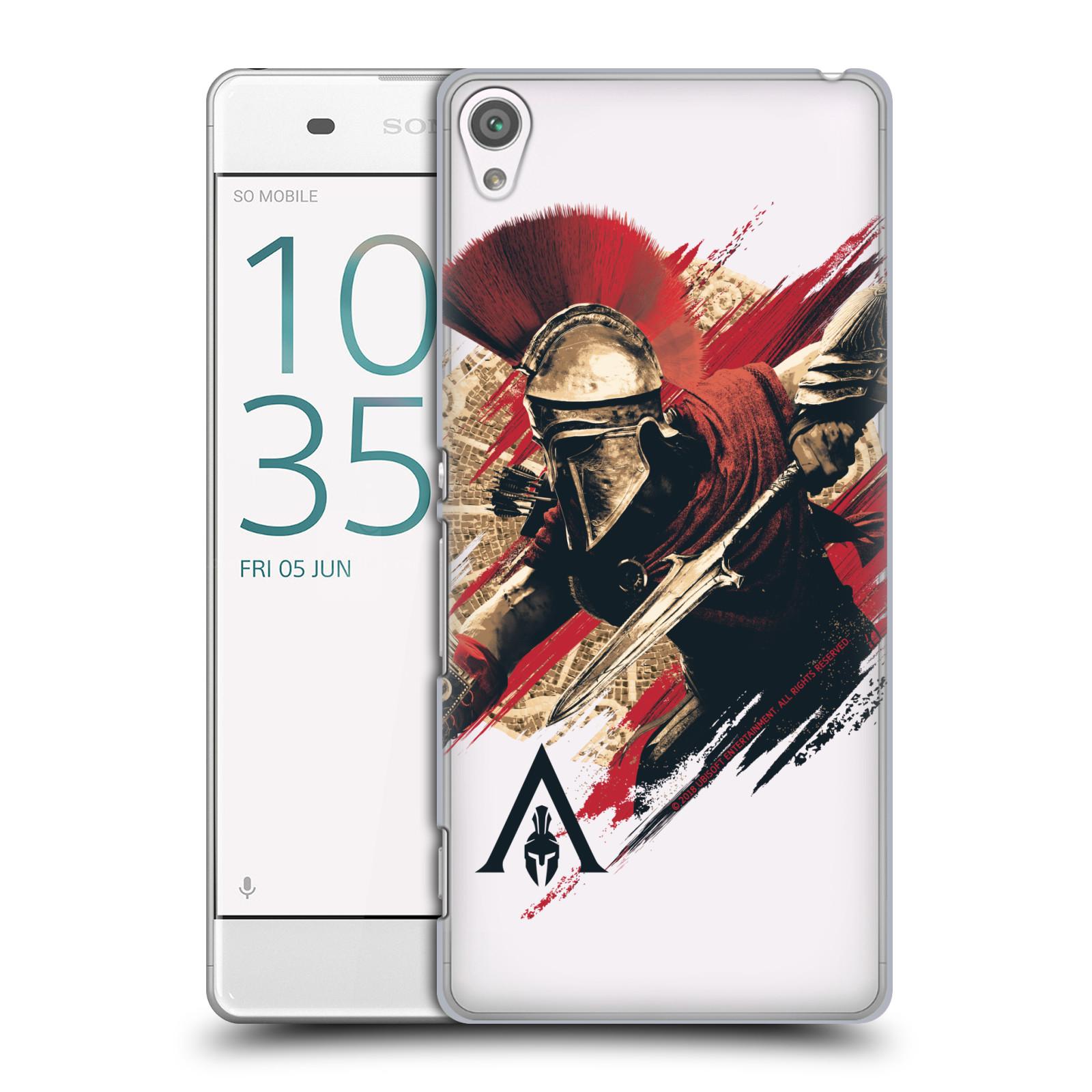 Pouzdro na mobil Sony Xperia XA - HEAD CASE - Assassins Creed Odyssey Alexios s oštěpem