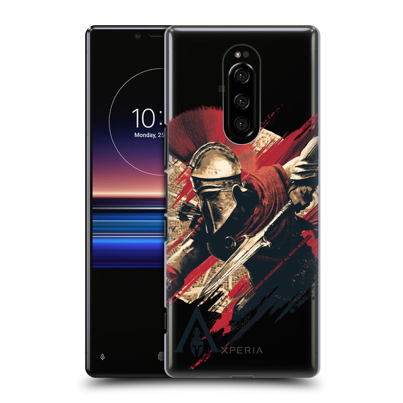 Pouzdro na mobil Sony Xperia 1 - HEAD CASE - Assassins Creed Odyssey Alexios s oštěpem