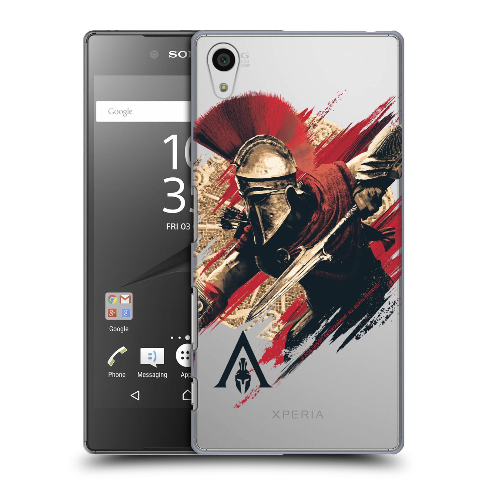 Pouzdro na mobil Sony Xperia Z5 - HEAD CASE - Assassins Creed Odyssey Alexios s oštěpem