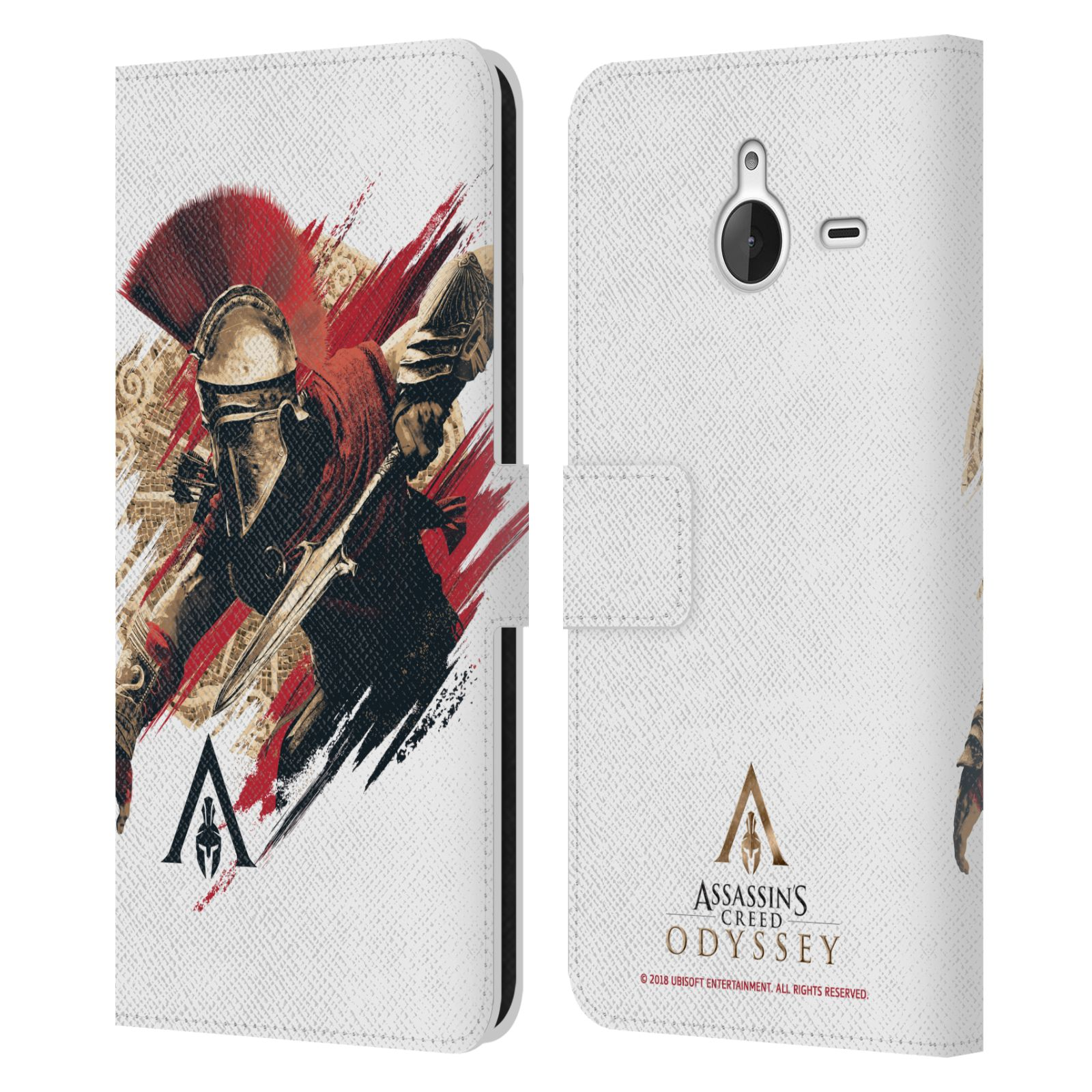 Pouzdro na mobil Nokia Lumia 640 XL - Head Case - Assassins Creed Odyssey Alexios v boji