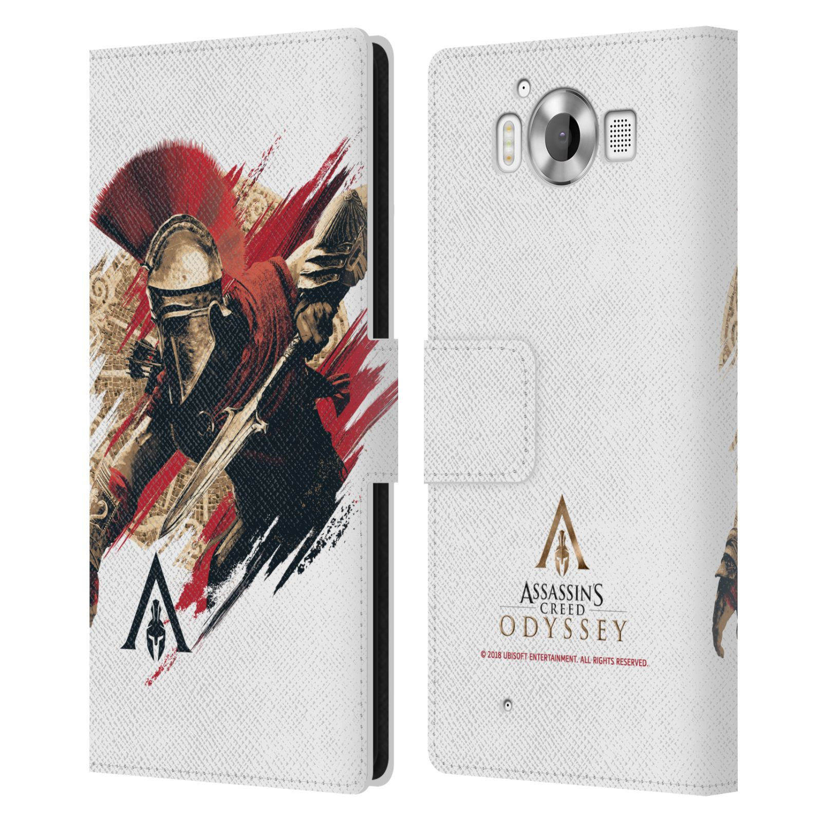Pouzdro na mobil Nokia Lumia 950 - Head Case - Assassins Creed Odyssey Alexios v boji