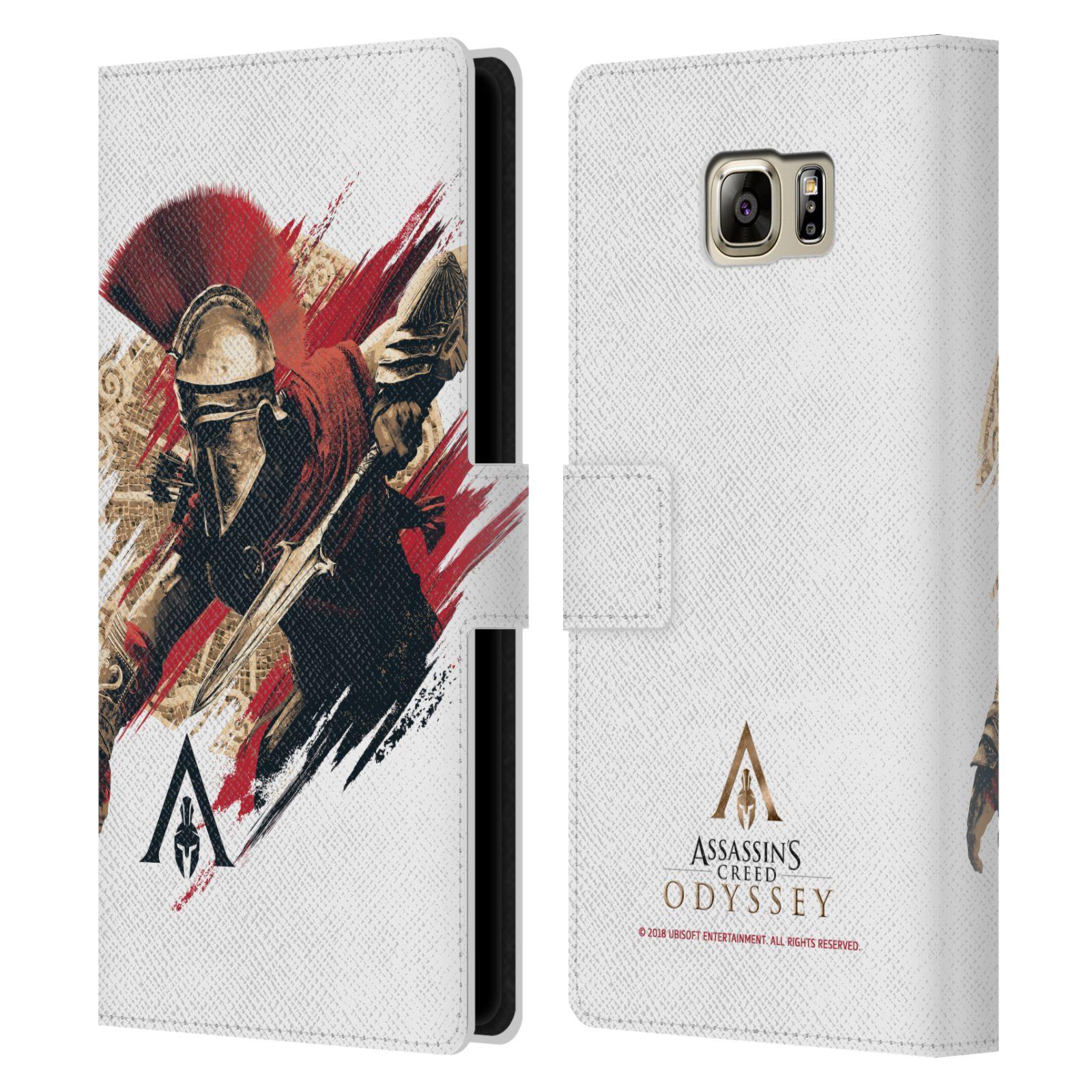 Pouzdro na mobil Samsung Galaxy NOTE 5 - Head Case - Assassins Creed Odyssey Alexios v boji