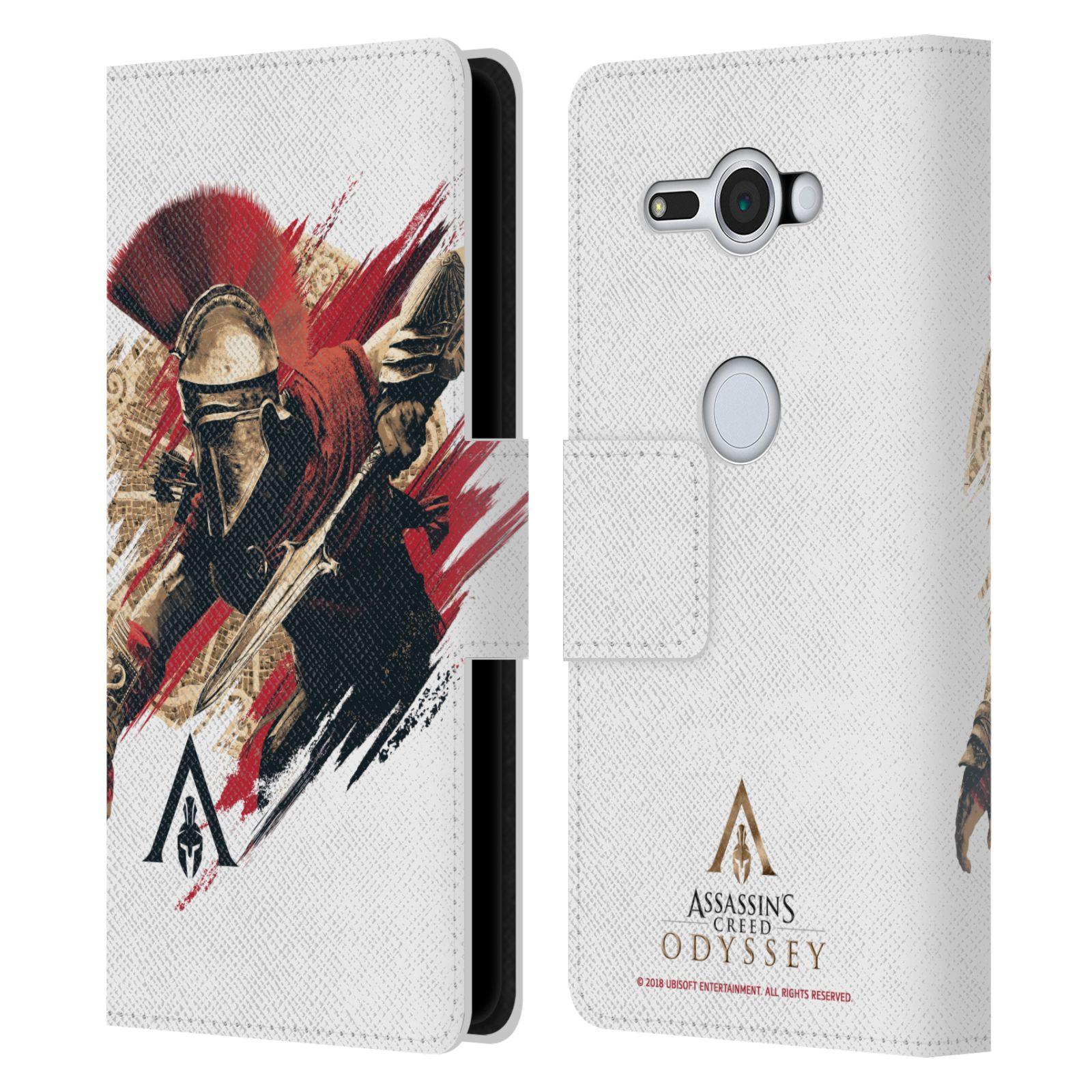 Pouzdro na mobil Sony Xperia XZ2 Compact - Head Case - Assassins Creed Odyssey Alexios v boji
