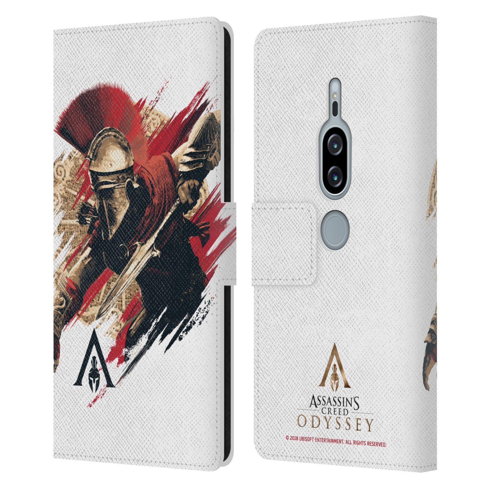 Pouzdro na mobil Sony Xperia XZ2 Premium - Head Case - Assassins Creed Odyssey Alexios v boji