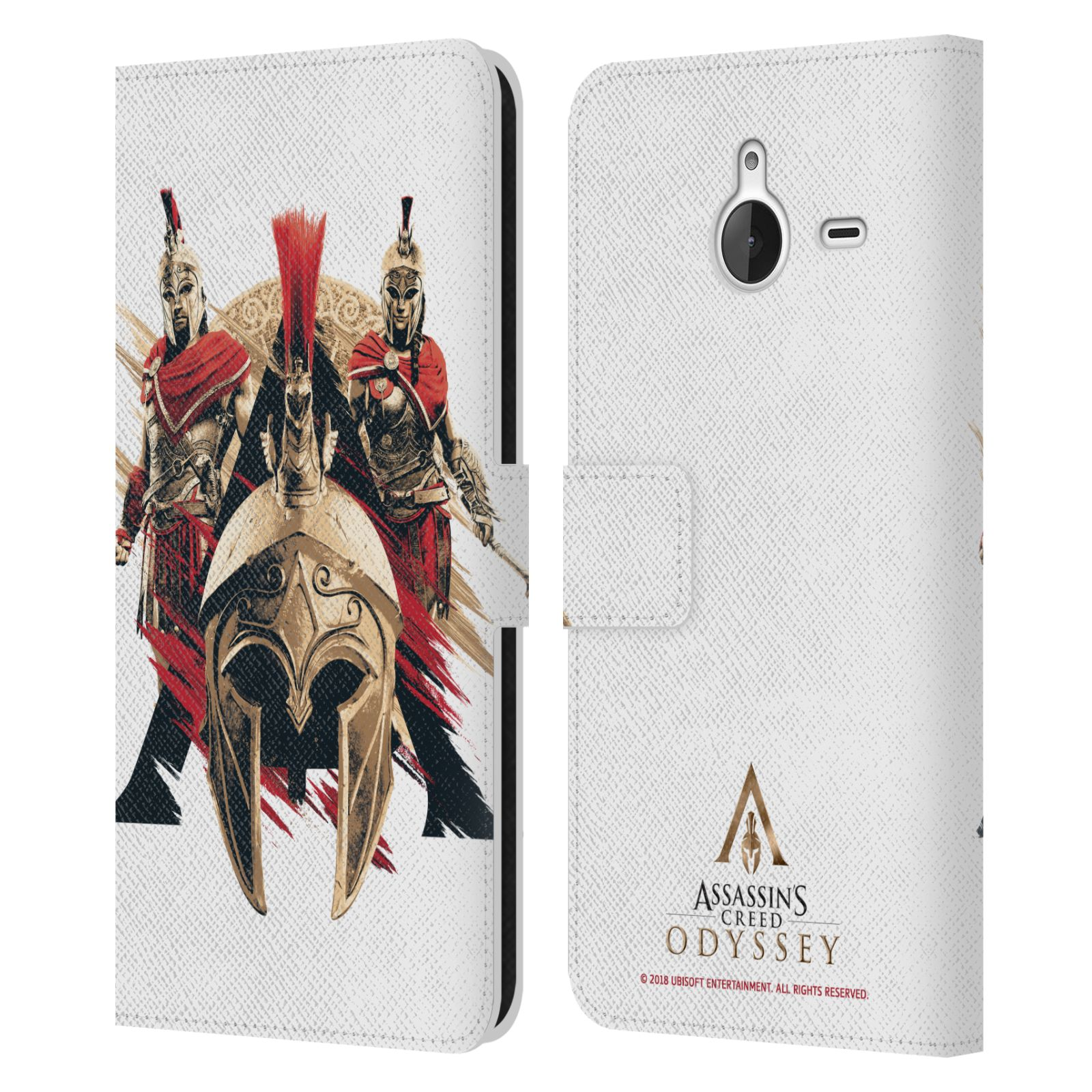 Pouzdro na mobil Nokia Lumia 640 XL - Head Case - Assassins Creed Odyssey helmice