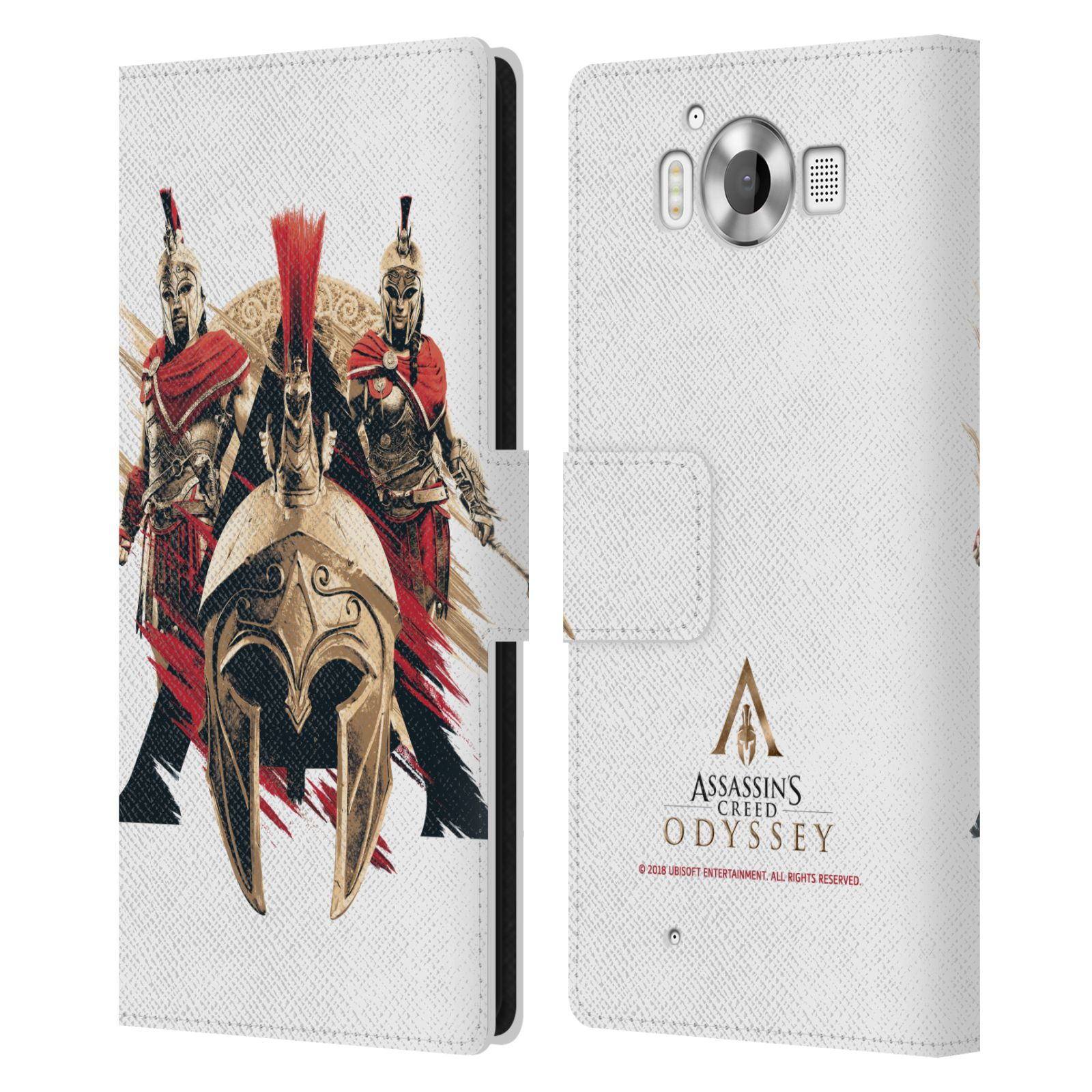 Pouzdro na mobil Nokia Lumia 950 - Head Case - Assassins Creed Odyssey helmice