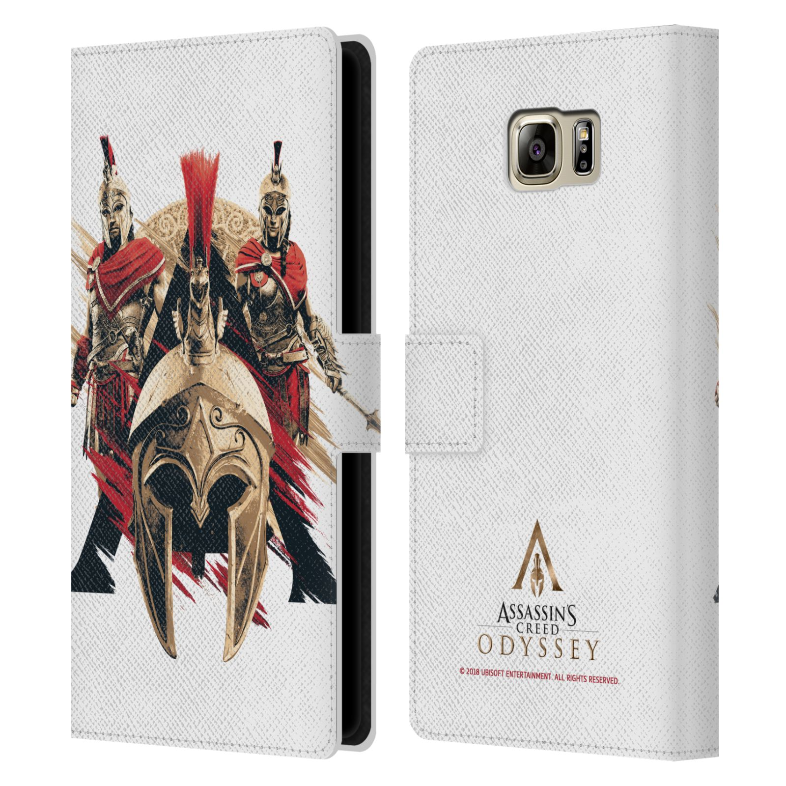 Pouzdro na mobil Samsung Galaxy NOTE 5 - Head Case - Assassins Creed Odyssey helmice