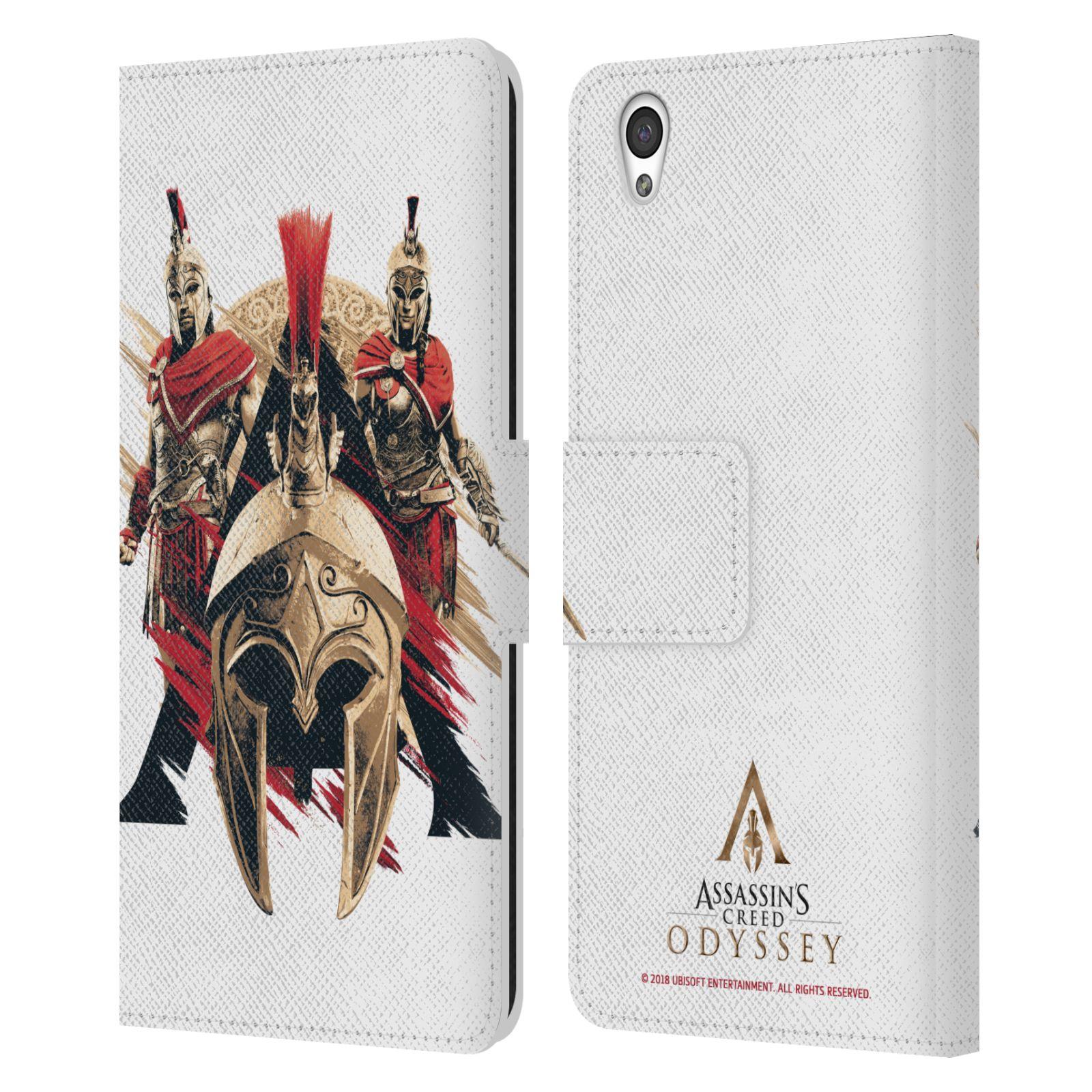 Pouzdro na mobil OnePlus X - Head Case - Assassins Creed Odyssey helmice