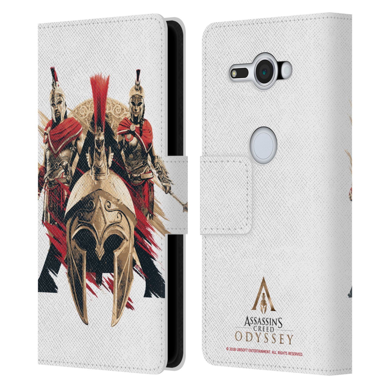 Pouzdro na mobil Sony Xperia XZ2 Compact - Head Case - Assassins Creed Odyssey helmice