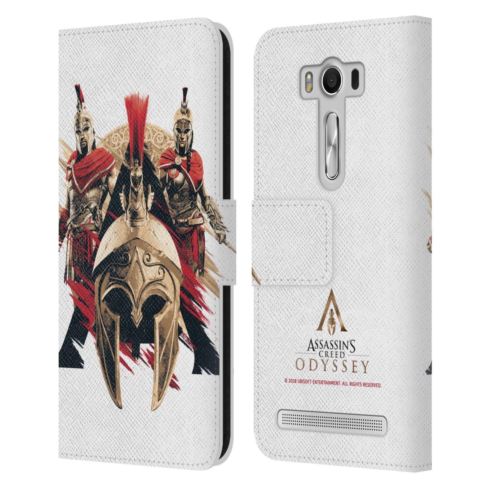 Pouzdro na mobil Asus Zenfone 2 Laser ZE500KL - Head Case - Assassins Creed Odyssey helmice