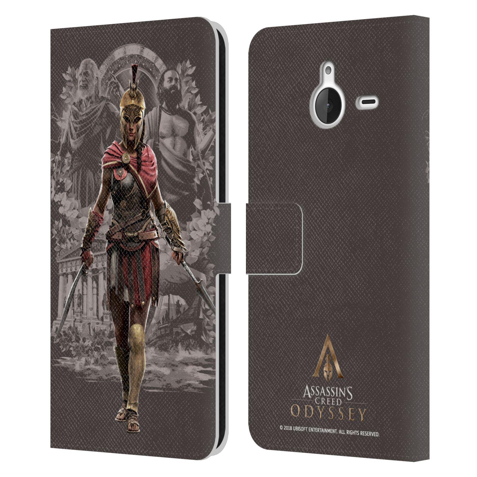 Pouzdro na mobil Nokia Lumia 640 XL - Head Case - Assassins Creed Odyssey Kassandra