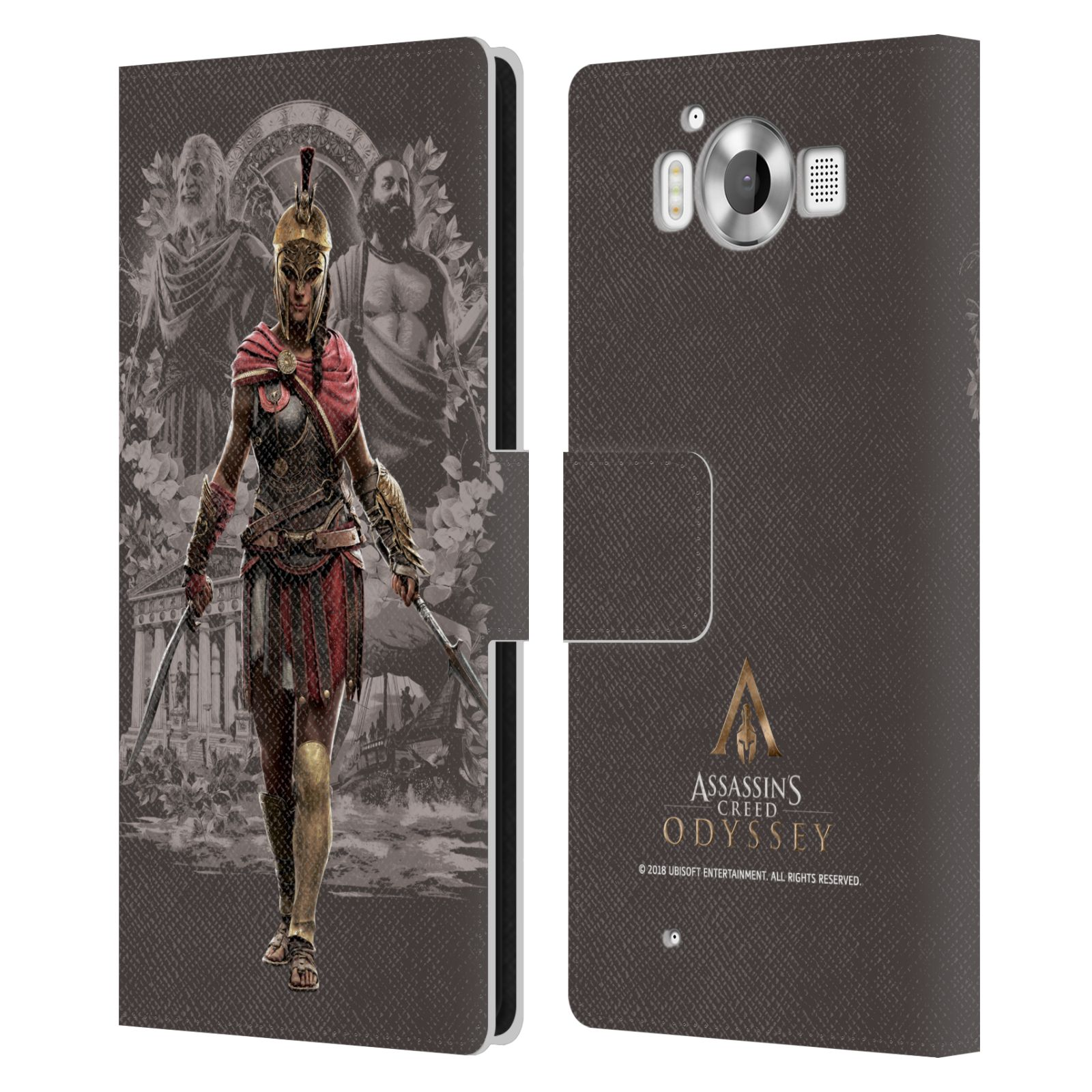 Pouzdro na mobil Nokia Lumia 950 - Head Case - Assassins Creed Odyssey Kassandra