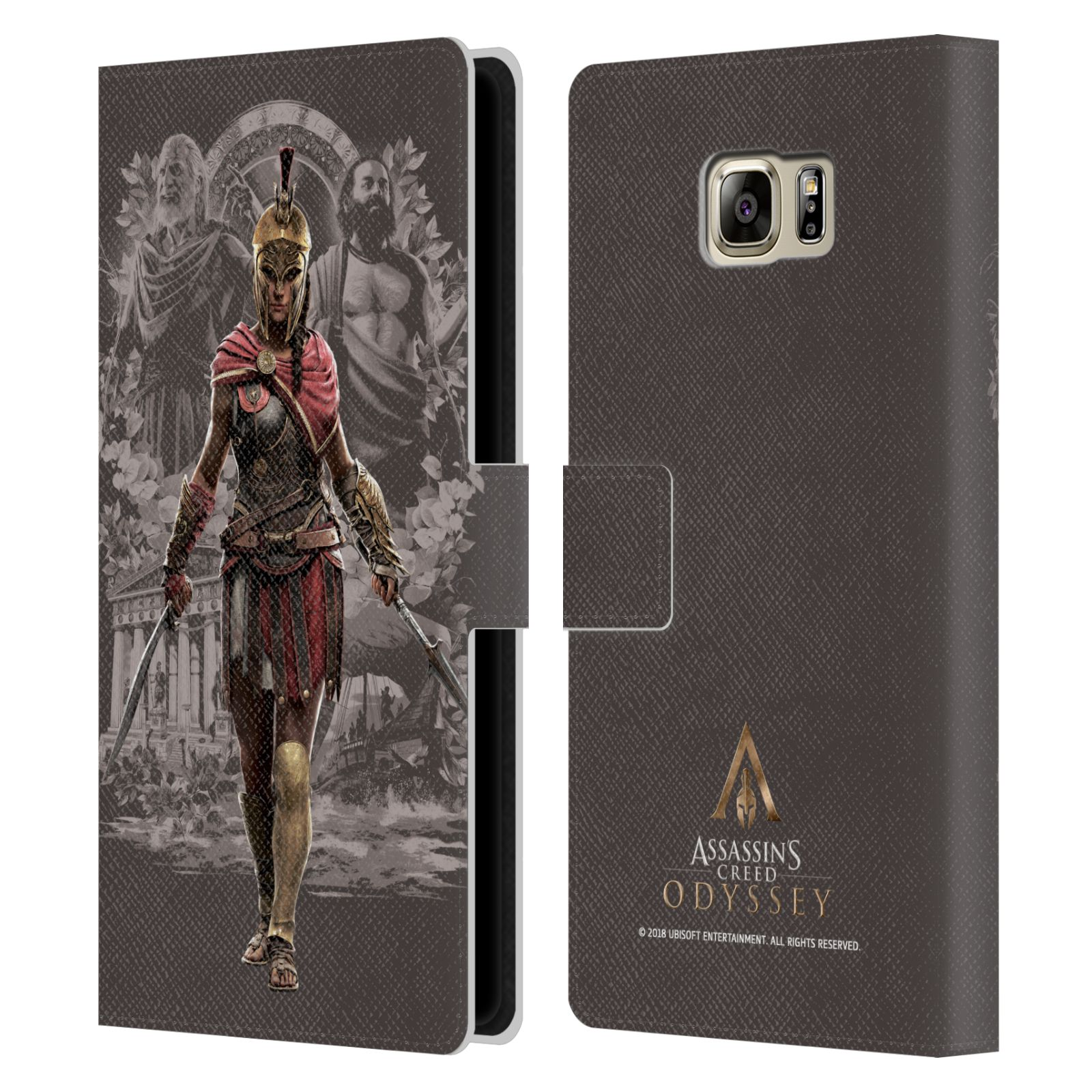 Pouzdro na mobil Samsung Galaxy NOTE 5 - Head Case - Assassins Creed Odyssey Kassandra