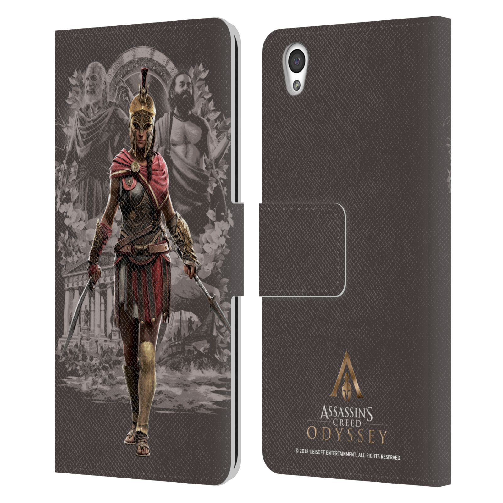 Pouzdro na mobil OnePlus X - Head Case - Assassins Creed Odyssey Kassandra