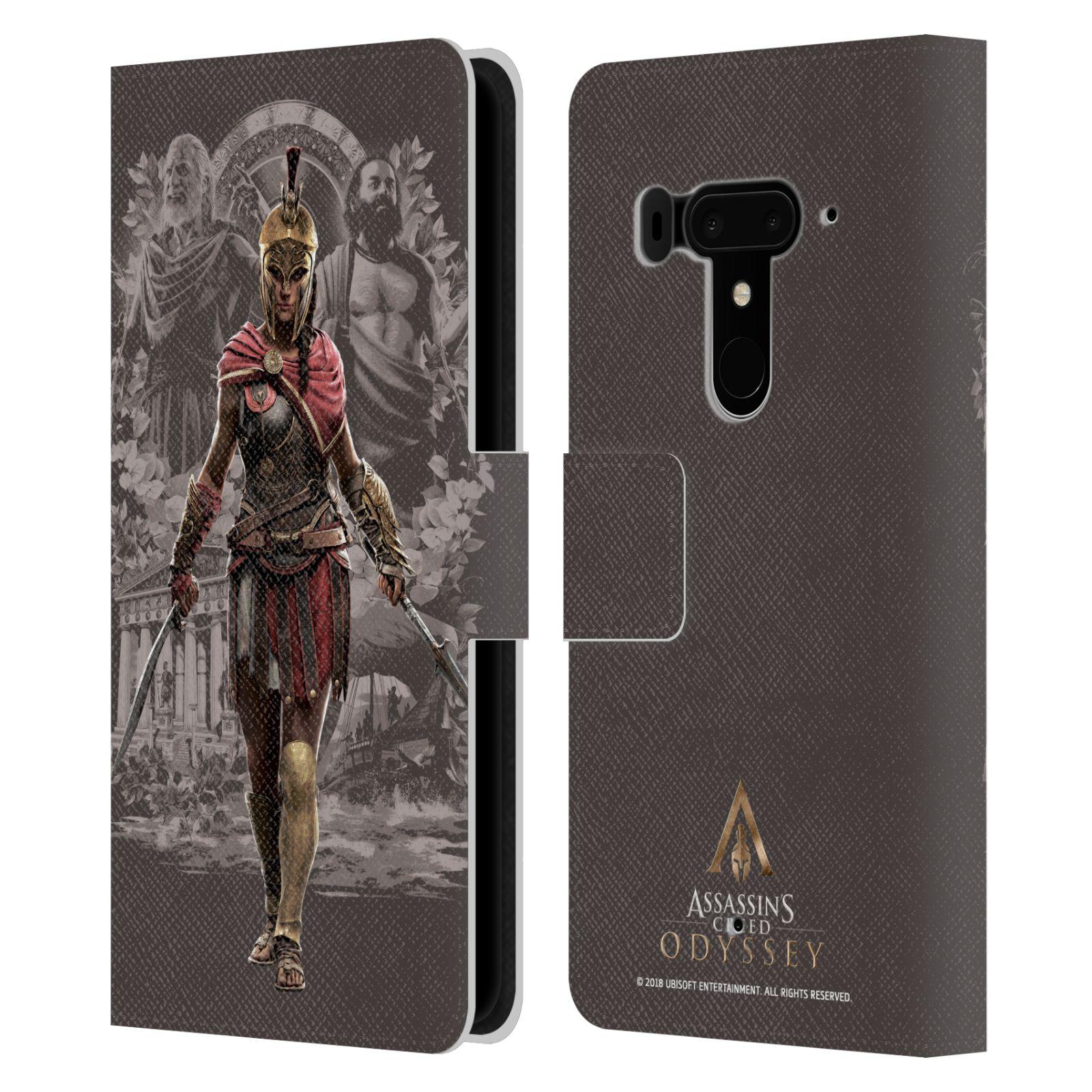 Pouzdro na mobil HTC U12 Plus - Head Case - Assassins Creed Odyssey Kassandra