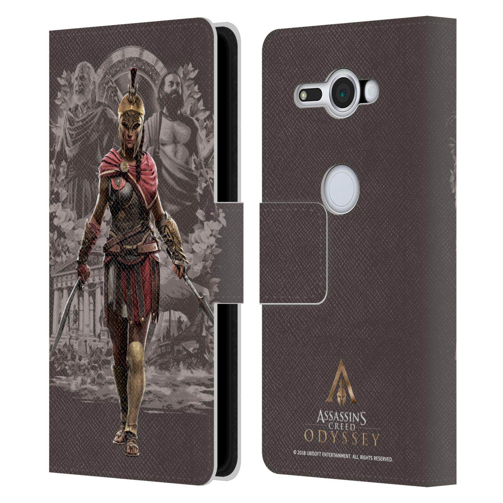 Pouzdro na mobil Sony Xperia XZ2 Compact - Head Case - Assassins Creed Odyssey Kassandra