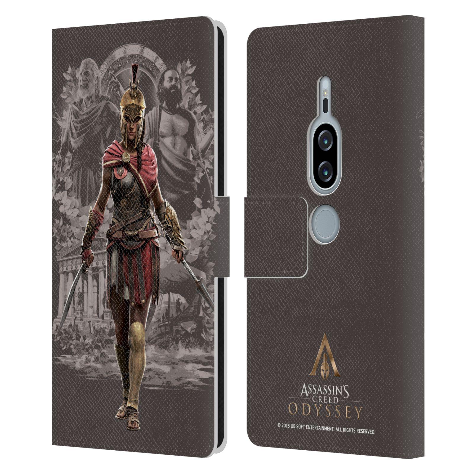 Pouzdro na mobil Sony Xperia XZ2 Premium - Head Case - Assassins Creed Odyssey Kassandra