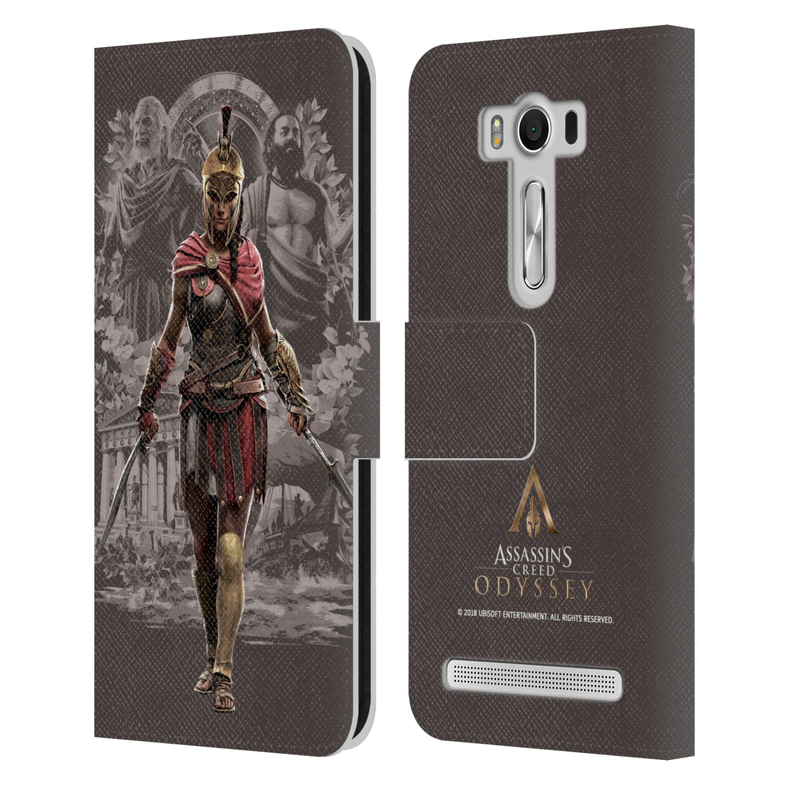 Pouzdro na mobil Asus Zenfone 2 Laser ZE500KL - Head Case - Assassins Creed Odyssey Kassandra