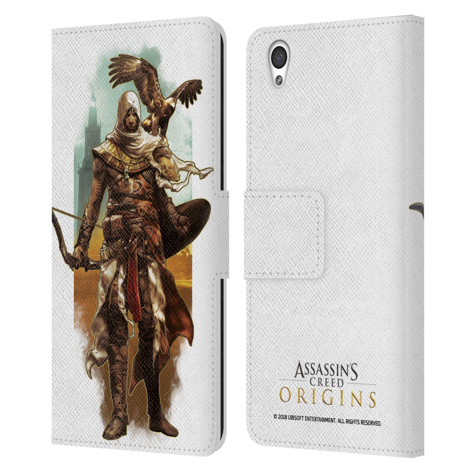 Pouzdro na mobil OnePlus X - Head Case - Assasins Creed Bayek s orlem