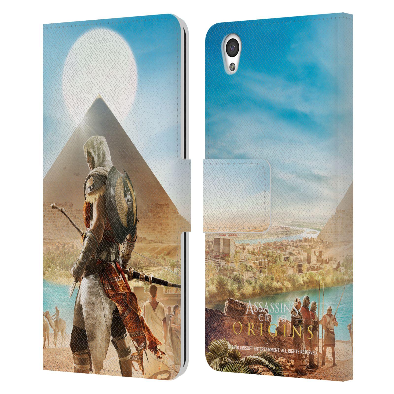 Pouzdro na mobil OnePlus X - Head Case - Assasins Creed Origins Bayek pyramida