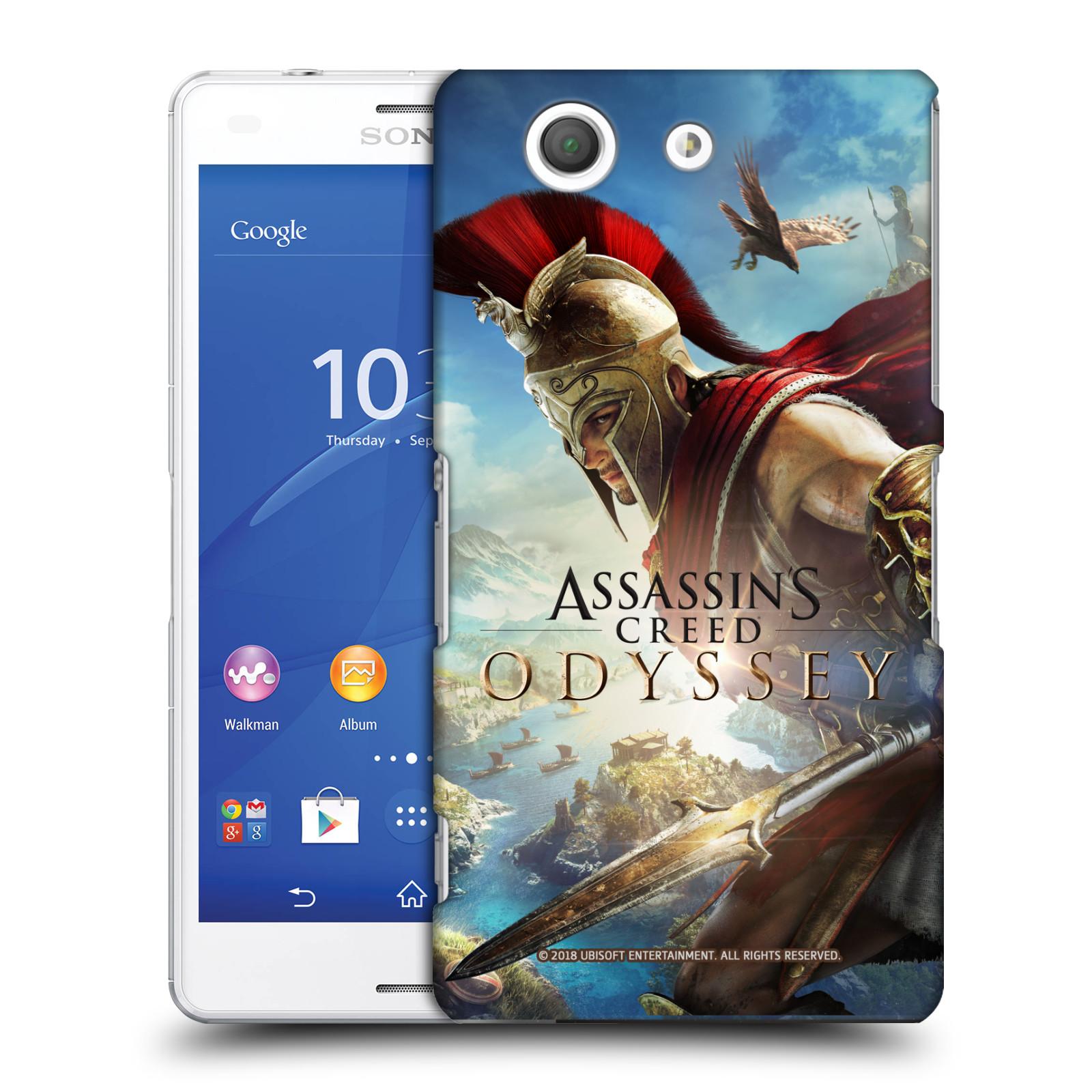 Pouzdro na mobil Sony Xperia Z3 COMPACT - HEAD CASE - Assassins Creed Odyssey Alexios a Ikaros