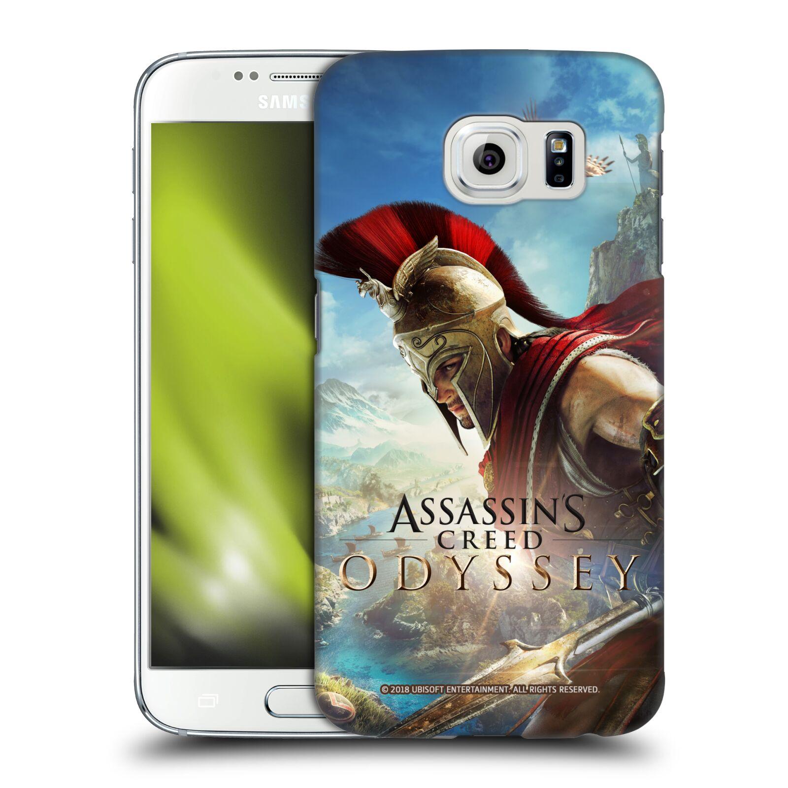Pouzdro na mobil Samsung Galaxy S6 - HEAD CASE - Assassins Creed Odyssey Alexios a Ikaros
