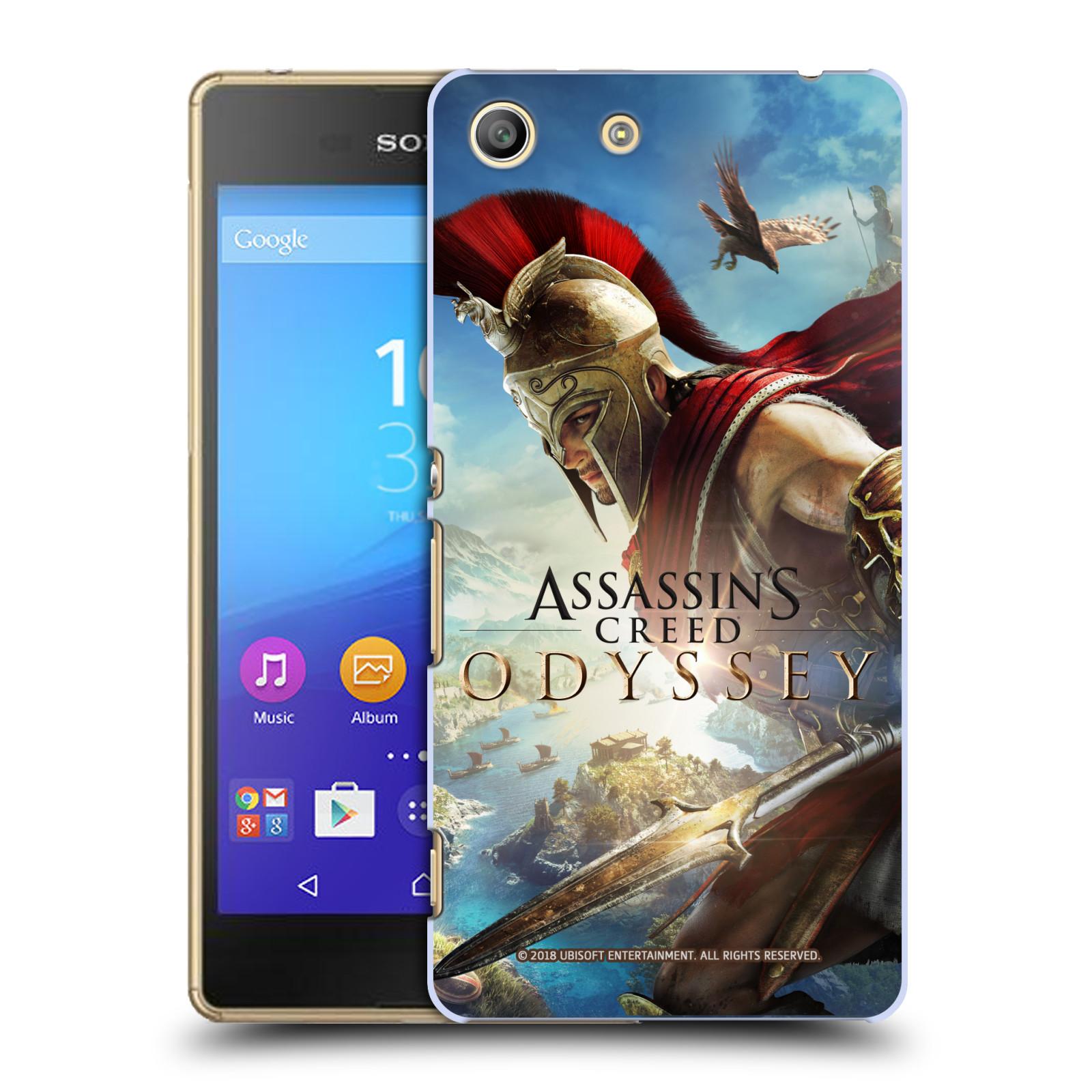 Pouzdro na mobil Sony Xperia M5 - HEAD CASE - Assassins Creed Odyssey Alexios a Ikaros