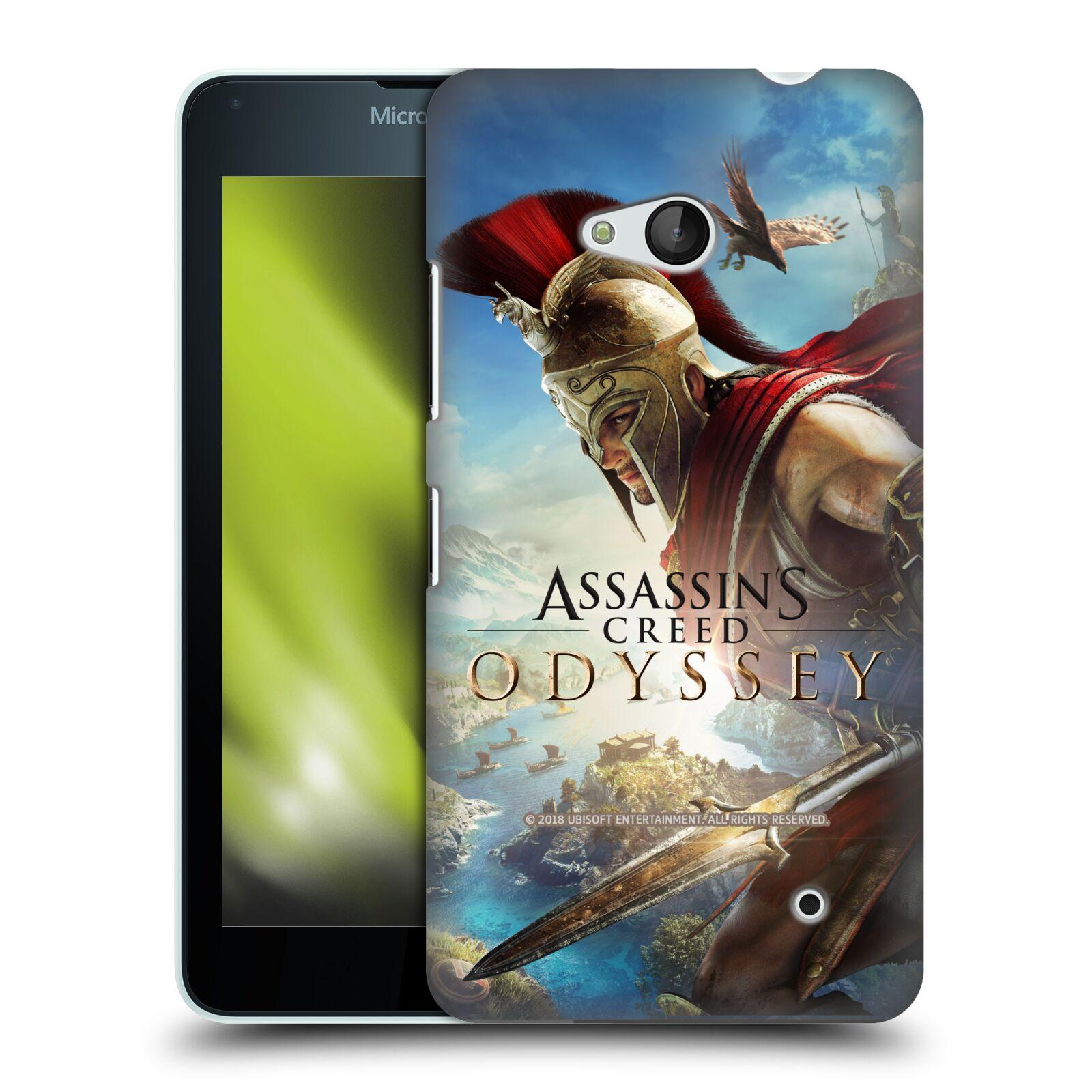Pouzdro na mobil Microsoft Lumia 640 / 640 DUAL SIM - HEAD CASE - Assassins Creed Odyssey Alexios a Ikaros