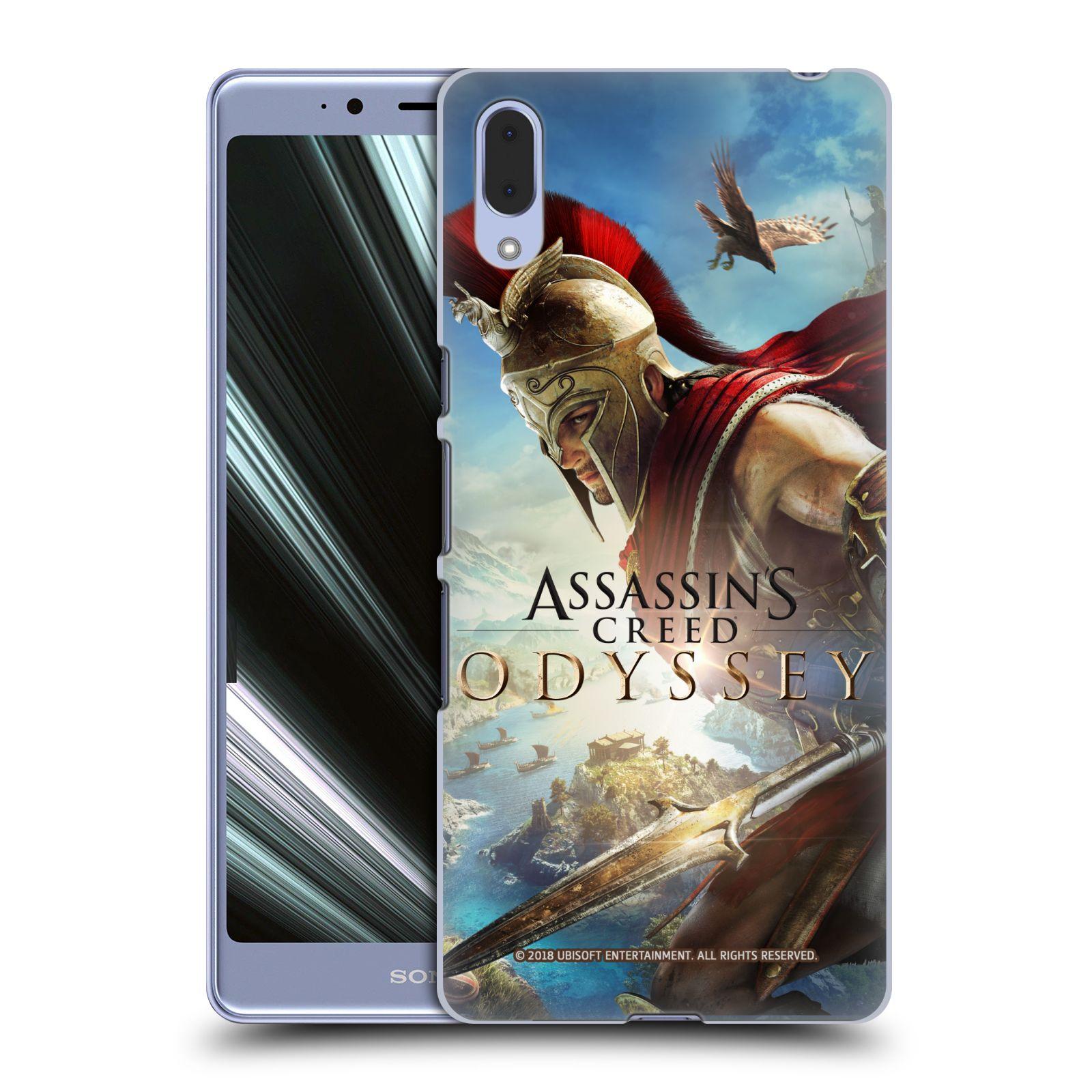 Pouzdro na mobil Sony Xperia L3 - HEAD CASE - Assassins Creed Odyssey Alexios a Ikaros