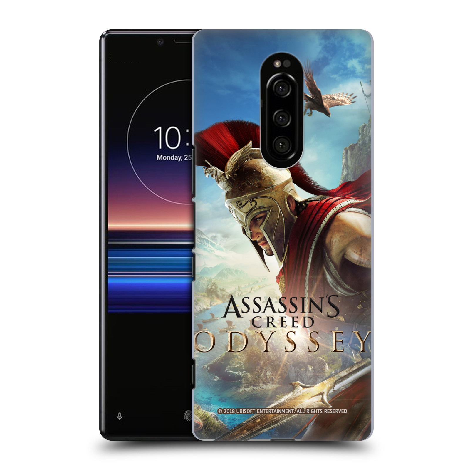 Pouzdro na mobil Sony Xperia 1 - HEAD CASE - Assassins Creed Odyssey Alexios a Ikaros