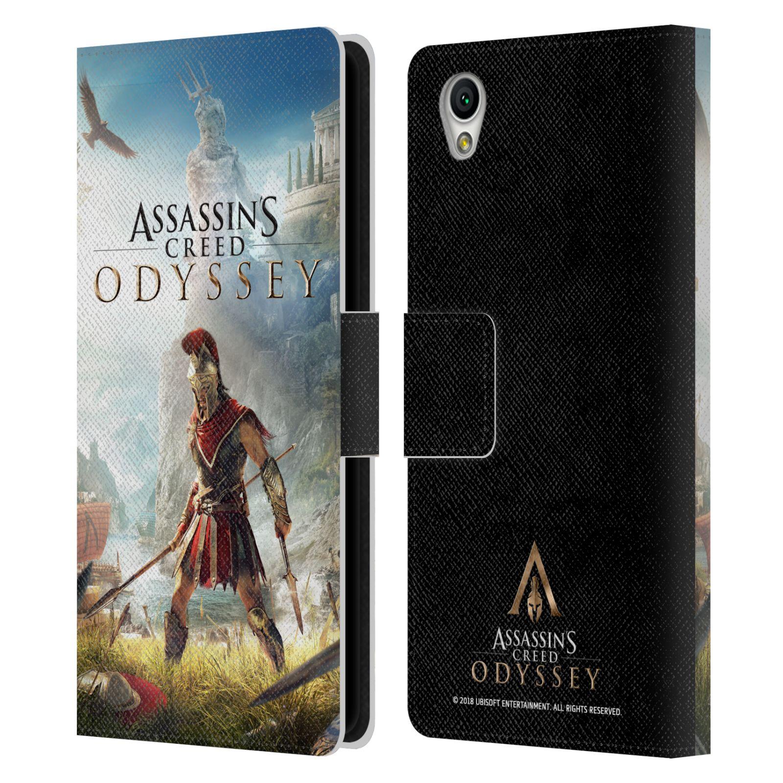 Pouzdro na mobil Sony Xperia L1 - Head Case - Assassins Creed Odyssey Alexios