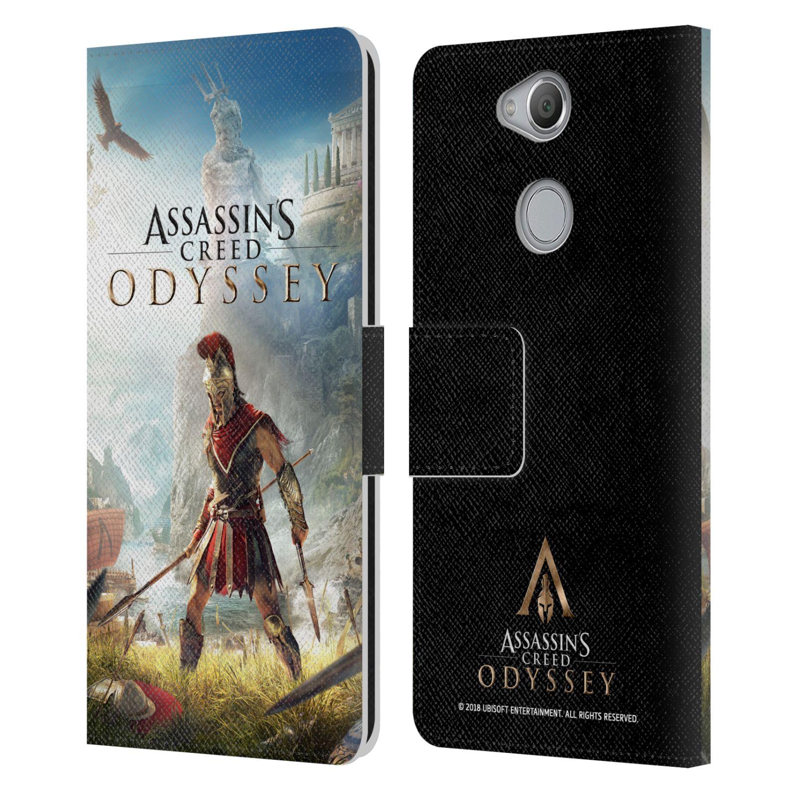 Pouzdro na mobil Sony Xperia XA2 - Head Case - Assassins Creed Odyssey Alexios