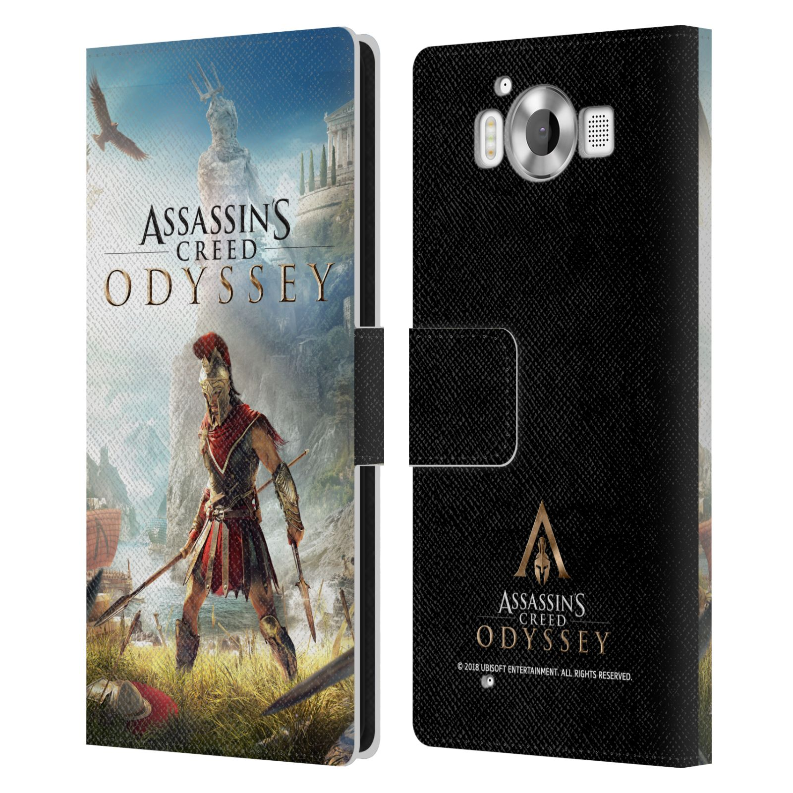 Pouzdro na mobil Nokia Lumia 950 - Head Case - Assassins Creed Odyssey Alexios