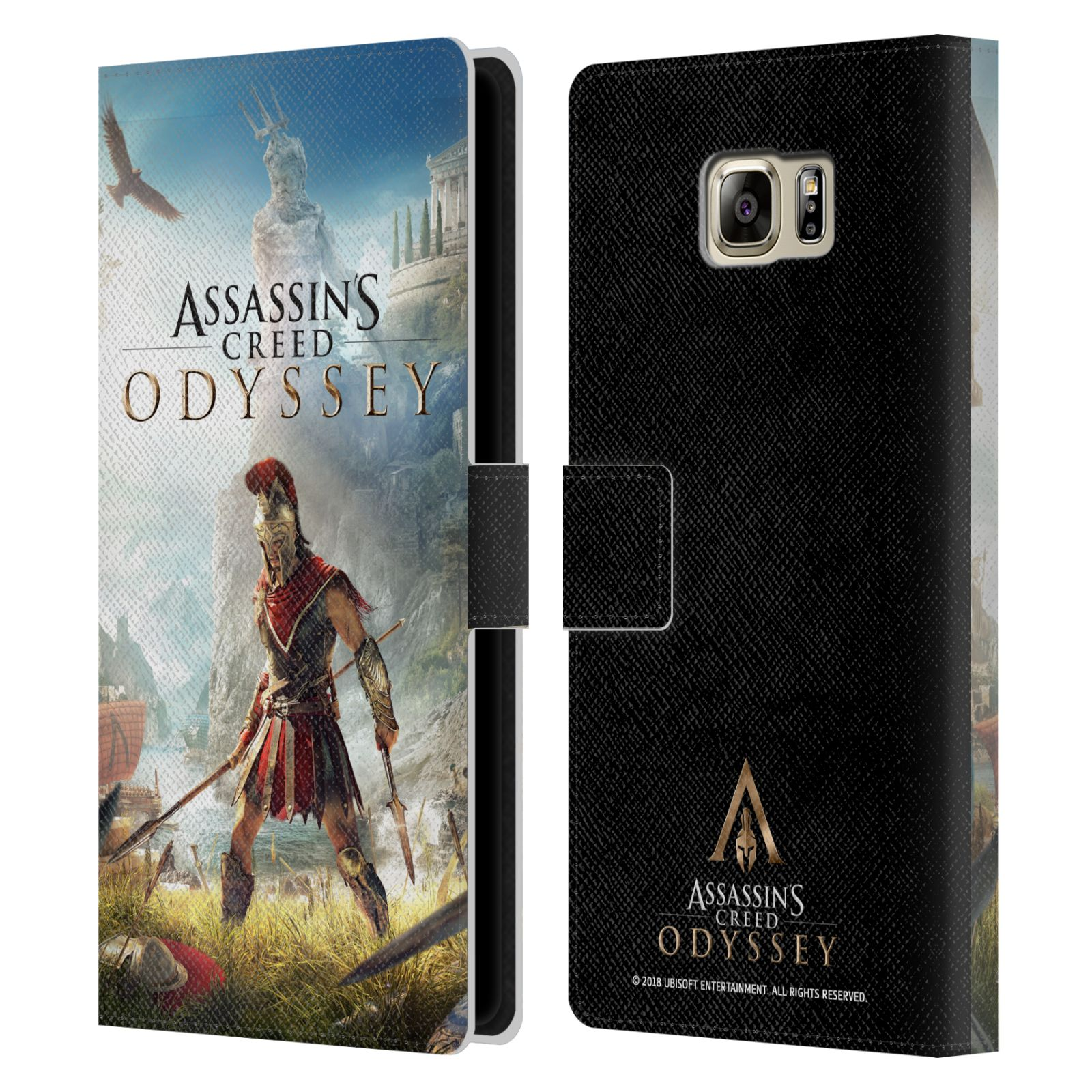 Pouzdro na mobil Samsung Galaxy NOTE 5 - Head Case - Assassins Creed Odyssey Alexios