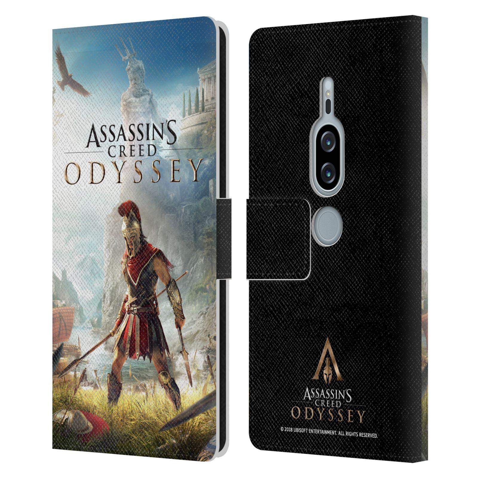 Pouzdro na mobil Sony Xperia XZ2 Premium - Head Case - Assassins Creed Odyssey Alexios