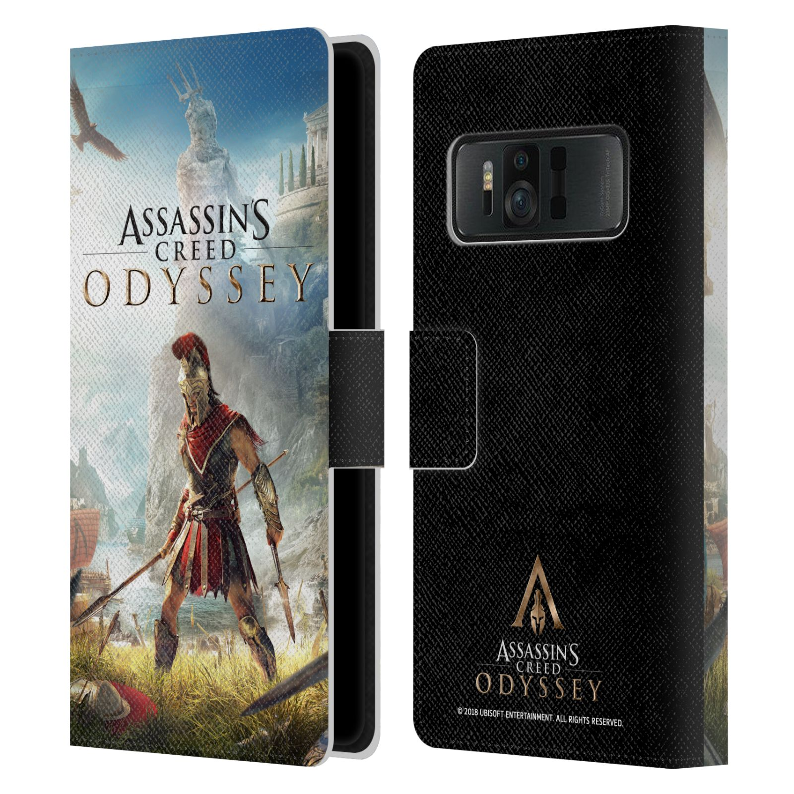 Pouzdro na mobil Asus Zenfone AR ZS571KL - Head Case - Assassins Creed Odyssey Alexios