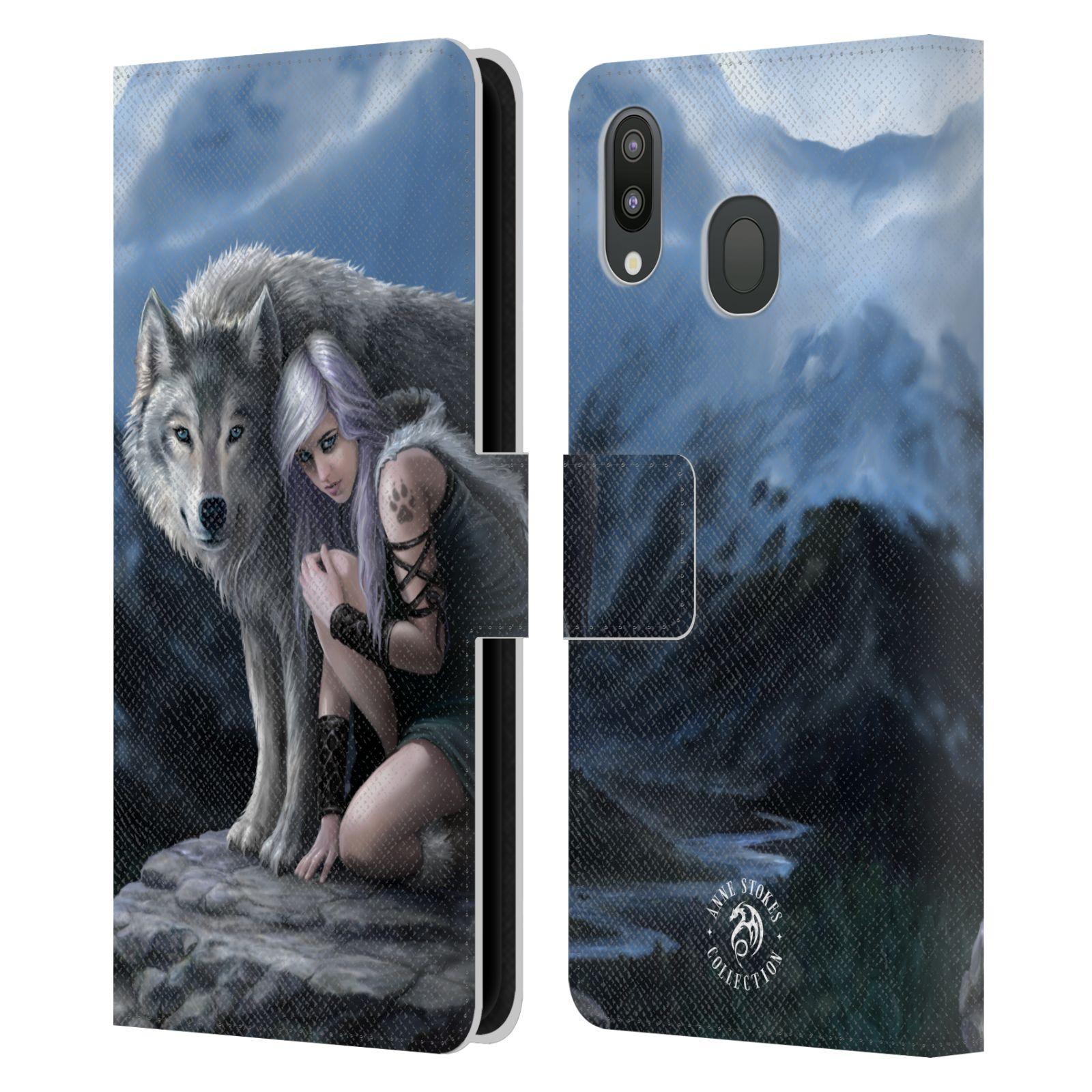 Pouzdro na mobil Samsung Galaxy M20 - Head Case - fantasy - vlk ochránce