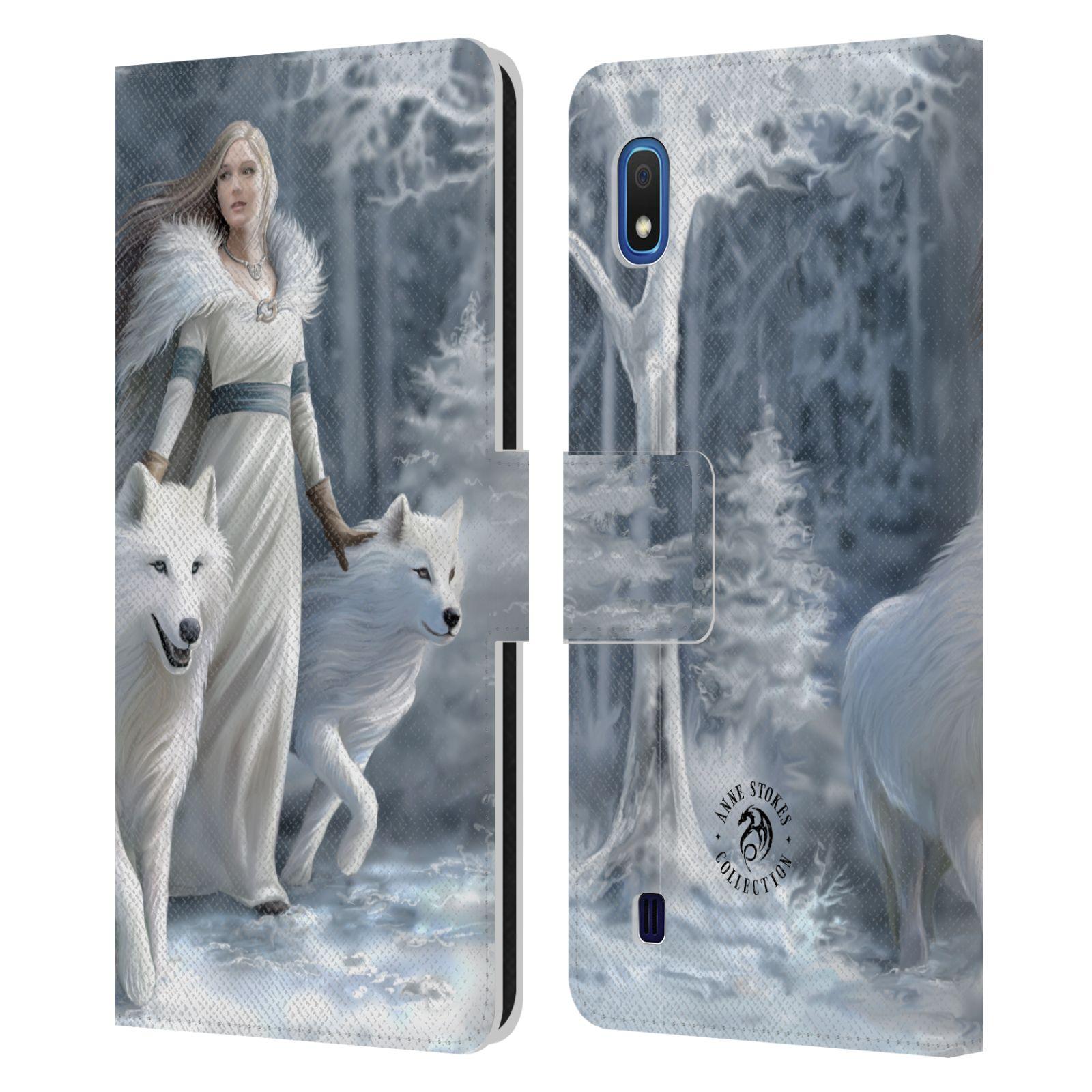 Pouzdro na mobil Samsung Galaxy A10 - Head Case - fantasy - vlk zimní stráž