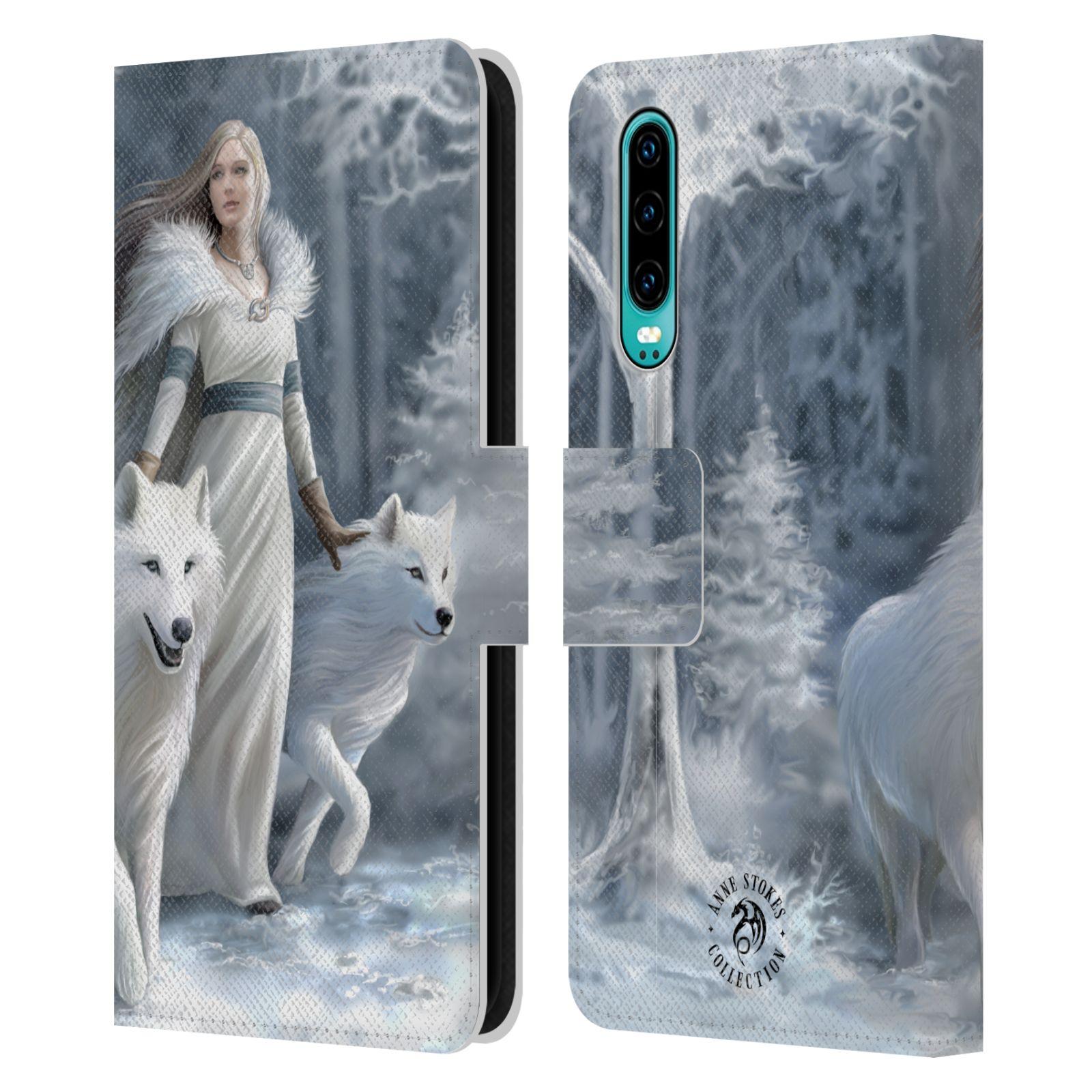 Pouzdro na mobil Huawei P30 - Head Case - fantasy - vlk zimní stráž