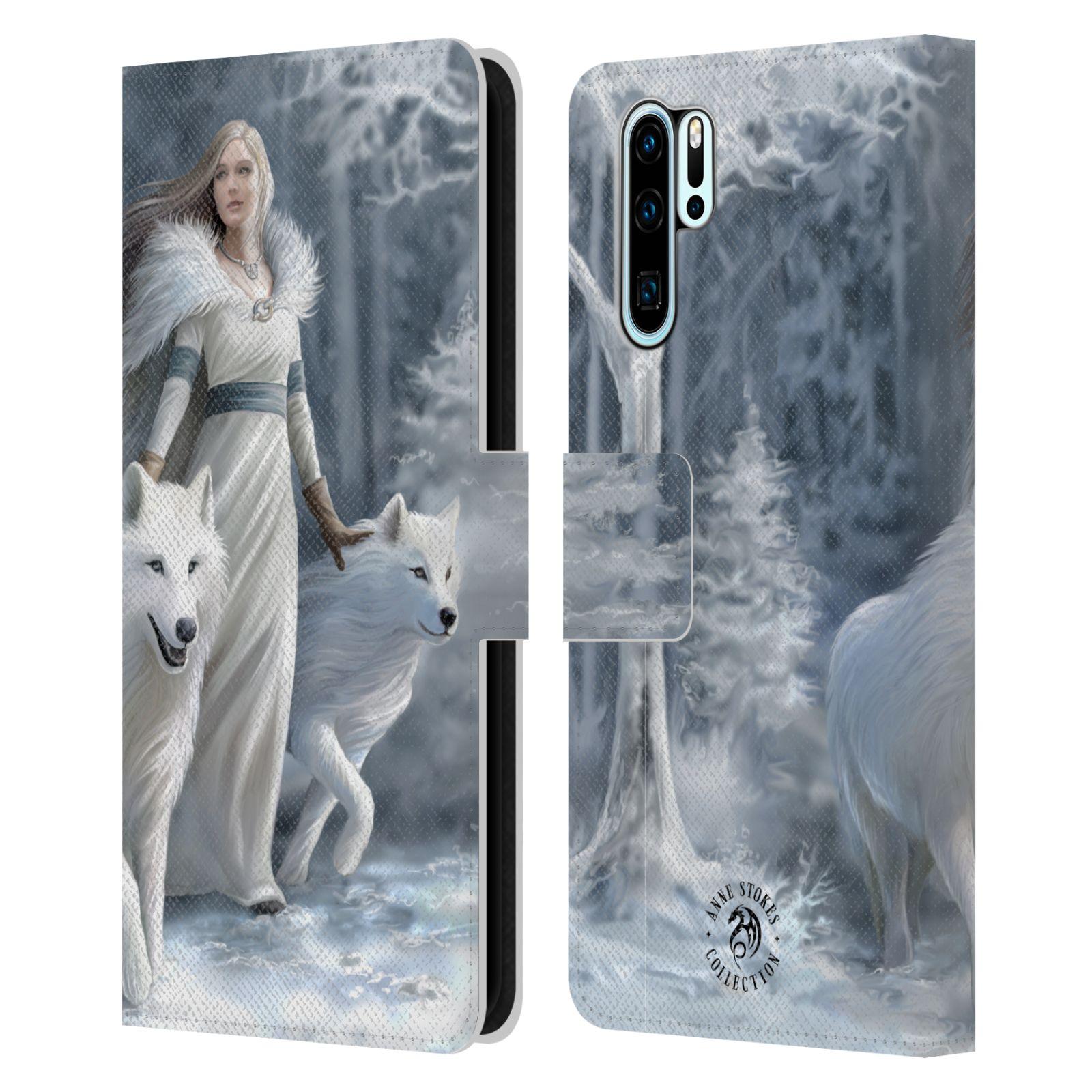 Pouzdro na mobil Huawei P30 PRO - Head Case - fantasy - vlk zimní stráž