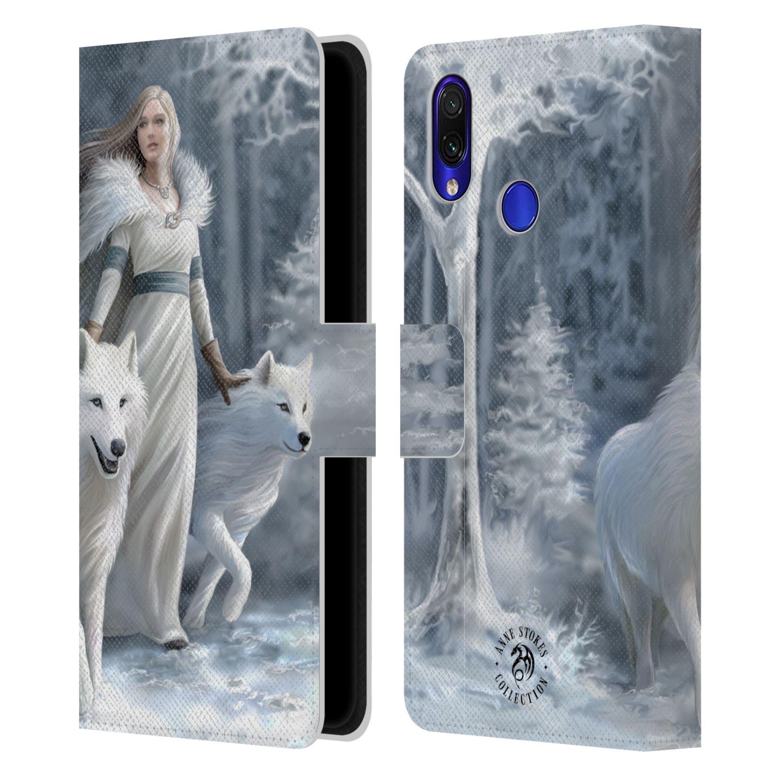 Pouzdro na mobil Xiaomi Redmi Note 7 / Note 7 PRO - Head Case - fantasy - vlk zimní stráž