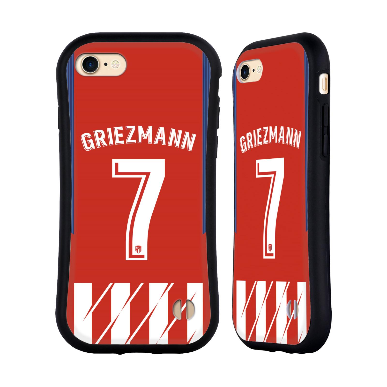 HEAD CASE odolný obal na mobil Apple Iphone 8 Fotbalový klub Atlético Madrid dres Antoine Griezmann