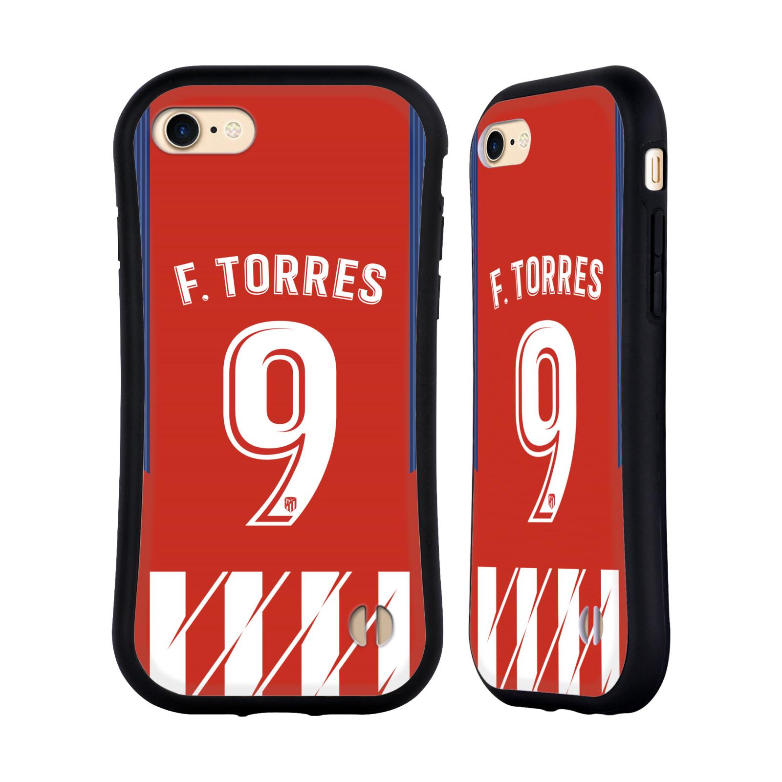 HEAD CASE odolný obal na mobil Apple Iphone 8 Fotbalový klub Atlético Madrid dres Fernando Torres